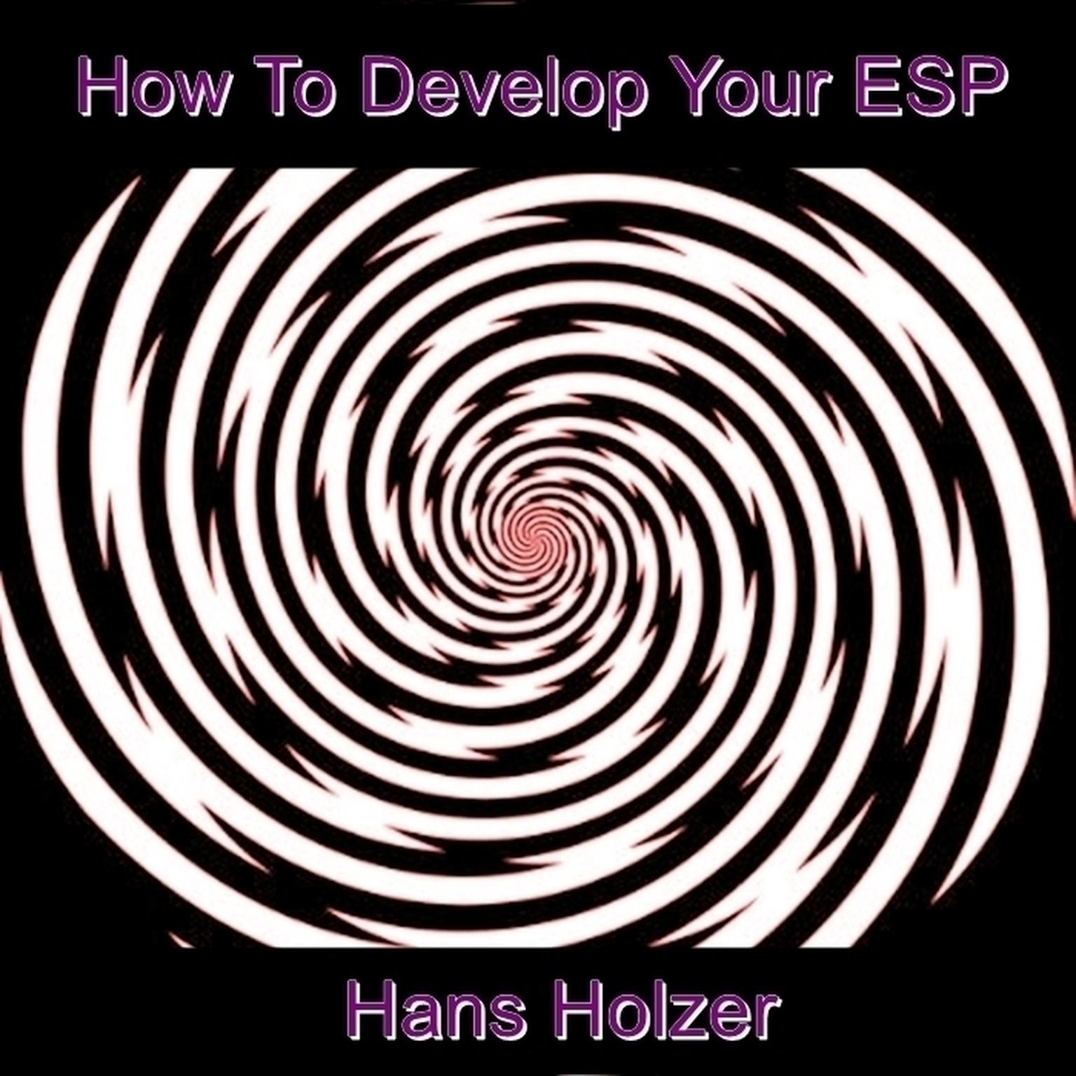 Printable How To Develop Your ESP Audiobook Cover Art