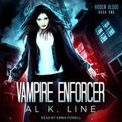 Vampire Enforcer Audiobook, by Al K. Line