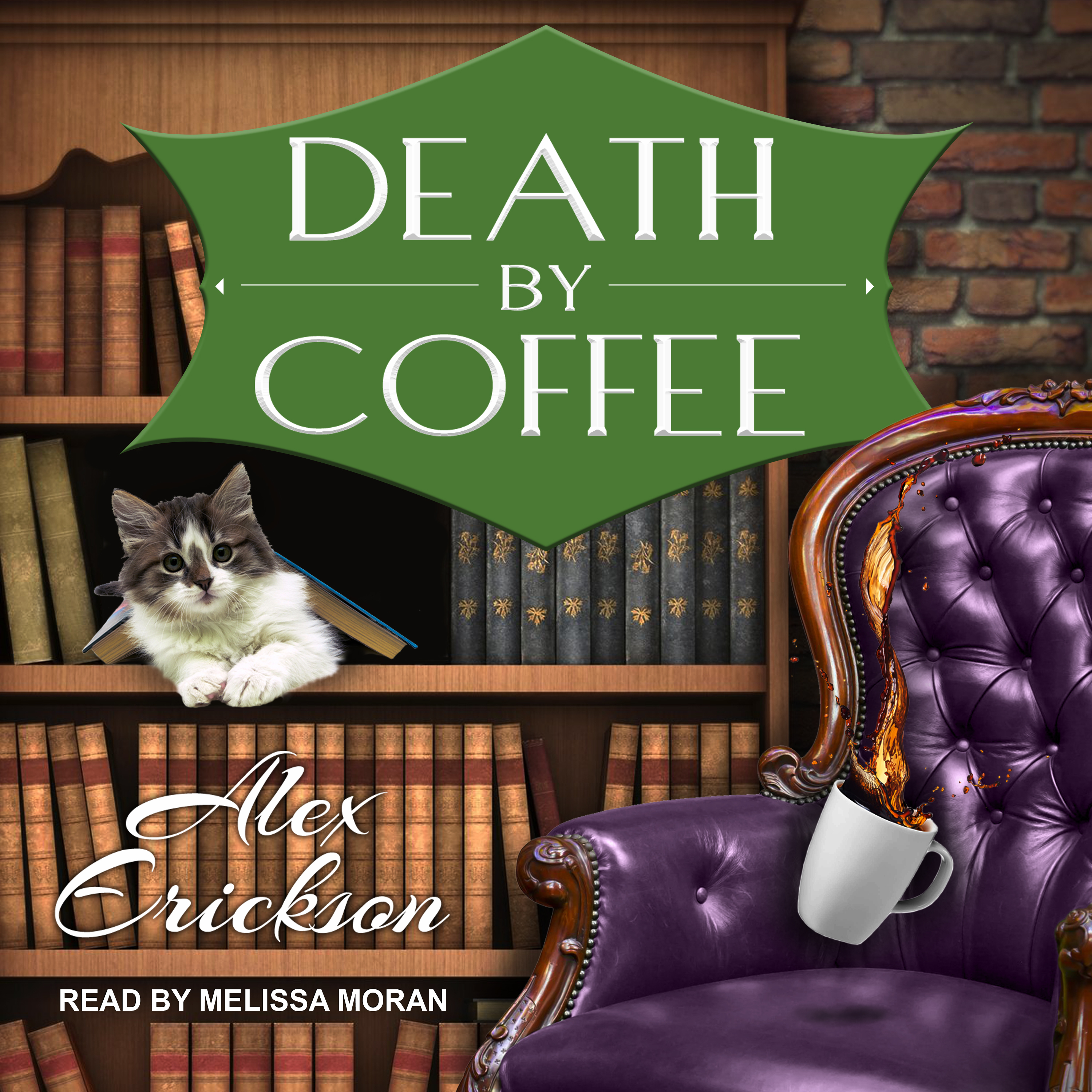 Printable Death by Coffee Audiobook Cover Art