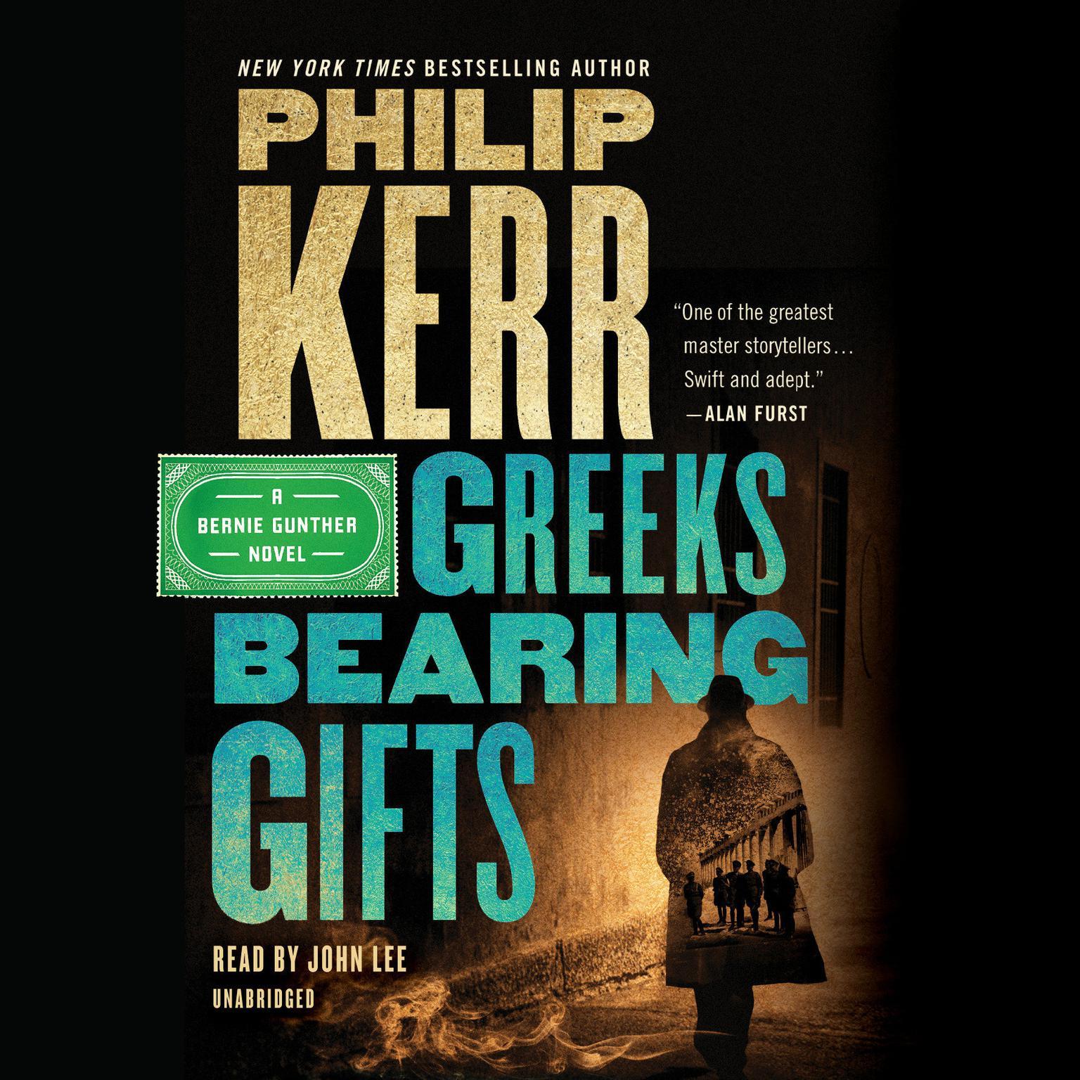 Printable Greeks Bearing Gifts Audiobook Cover Art