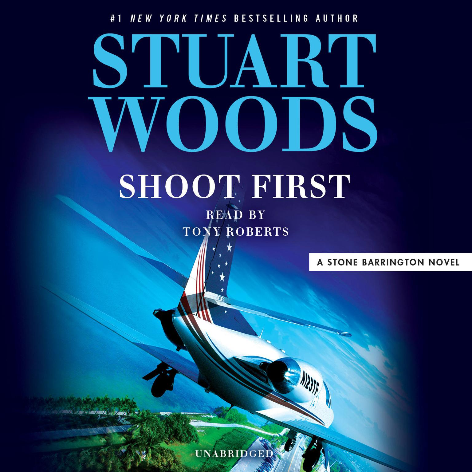 Printable Shoot First Audiobook Cover Art