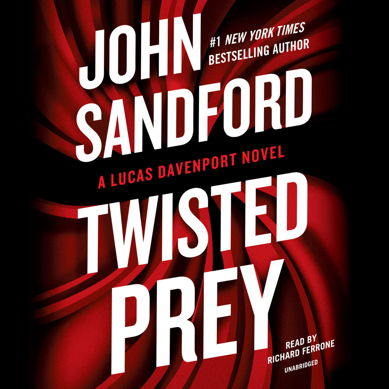 Printable Twisted Prey Audiobook Cover Art