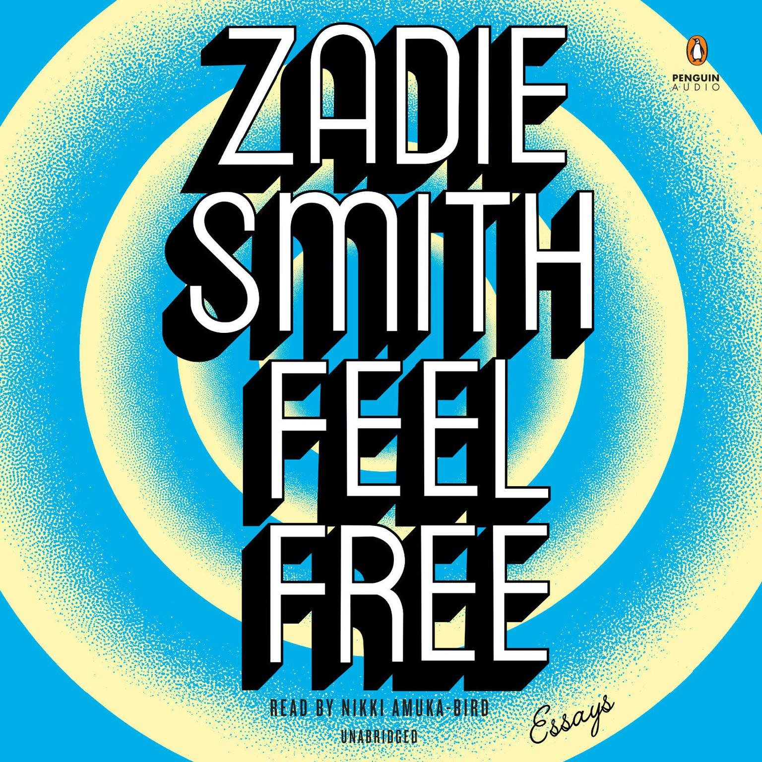 Printable Feel Free: Essays Audiobook Cover Art