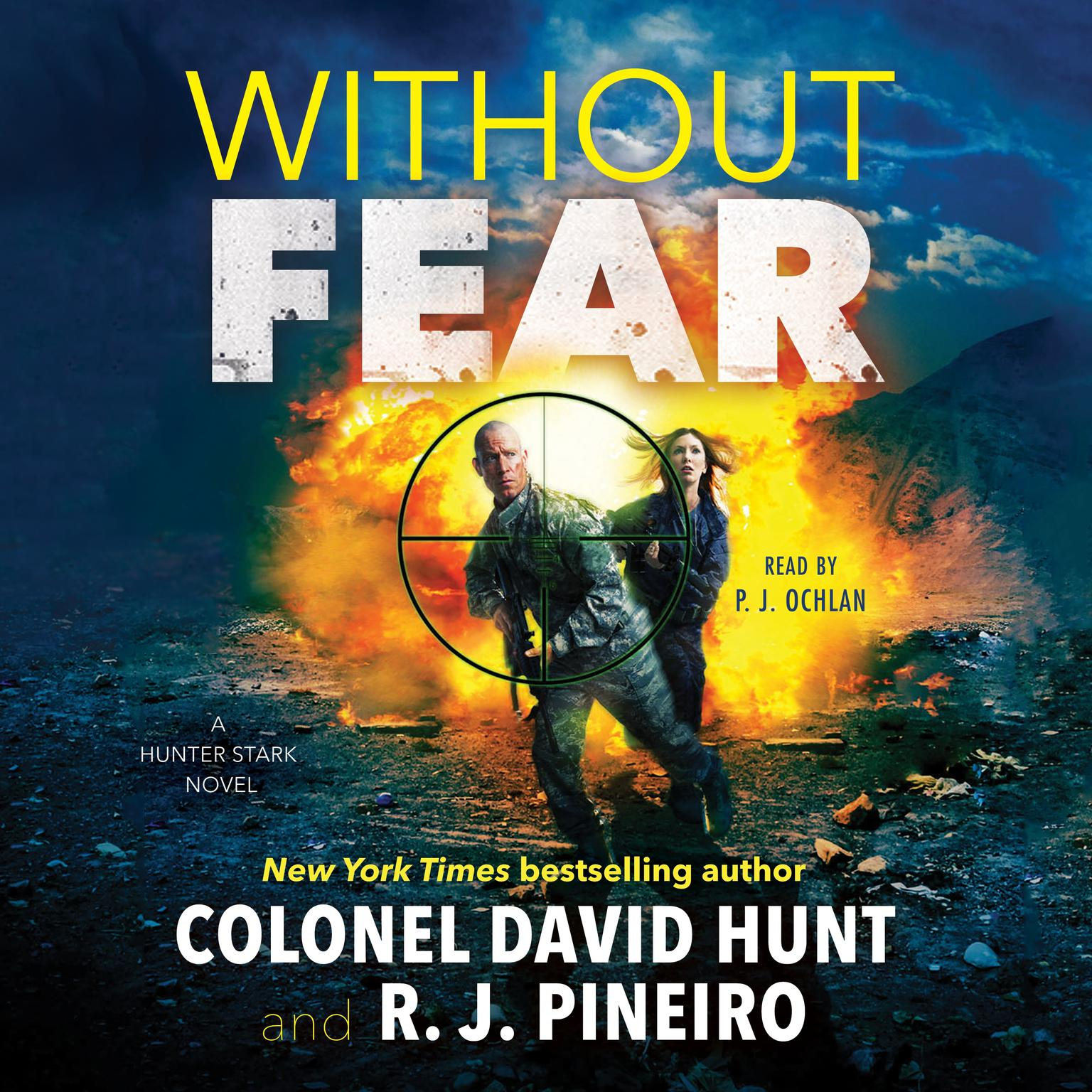 Printable Without Fear: A Hunter Stark Novel Audiobook Cover Art