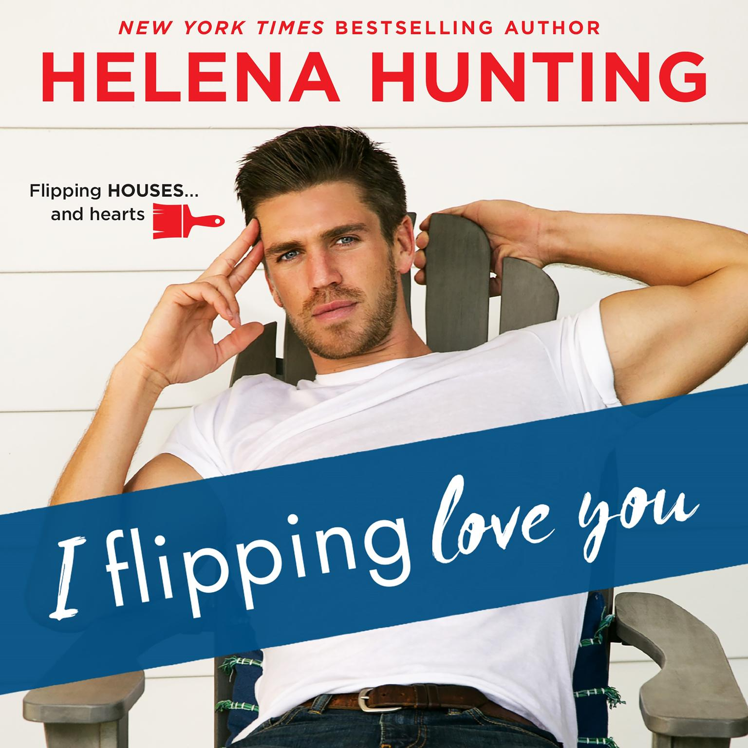 Printable I Flipping Love You Audiobook Cover Art