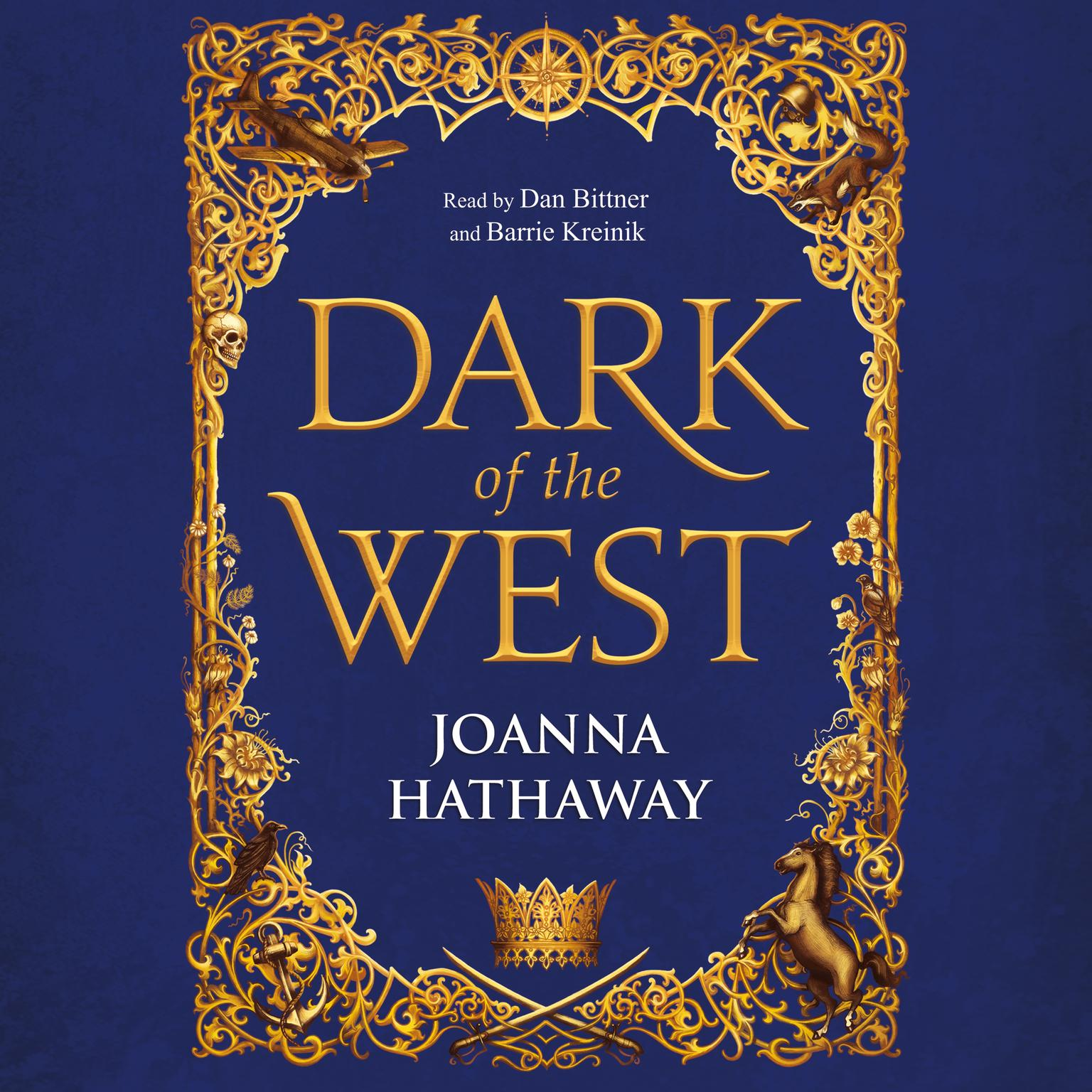 Printable Dark of the West Audiobook Cover Art