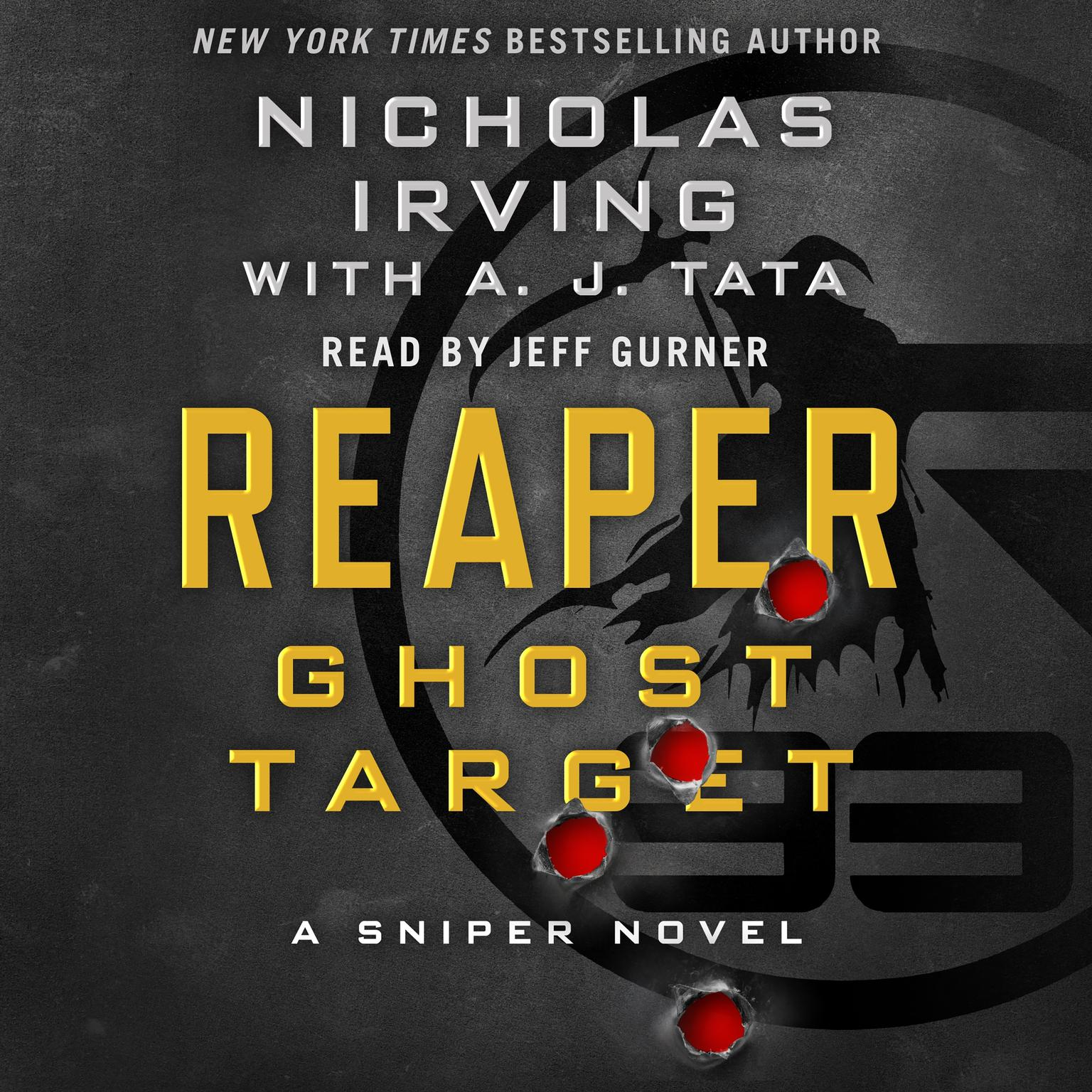 Printable Reaper: Ghost Target: A Sniper Novel Audiobook Cover Art