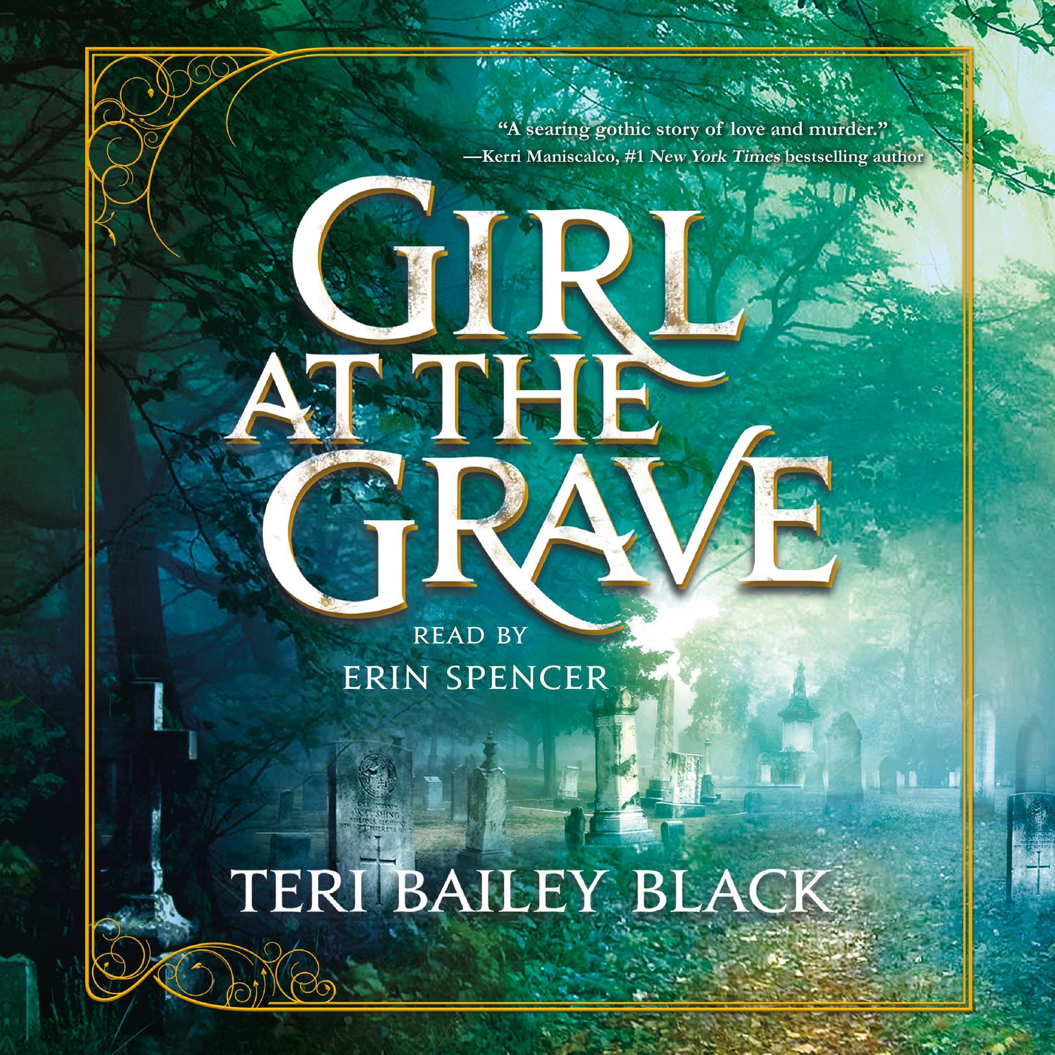 Printable Girl at the Grave Audiobook Cover Art