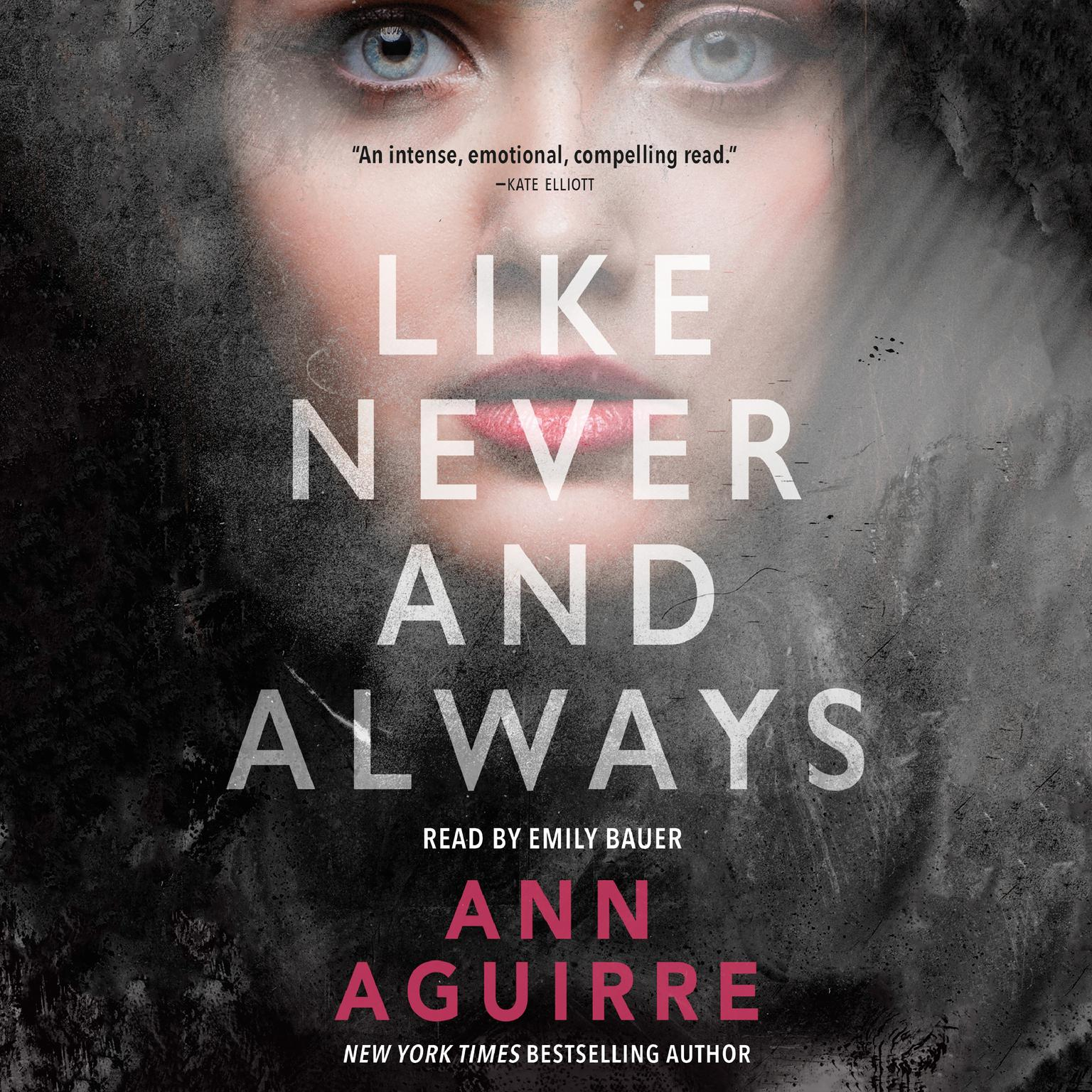 Printable Like Never and Always Audiobook Cover Art