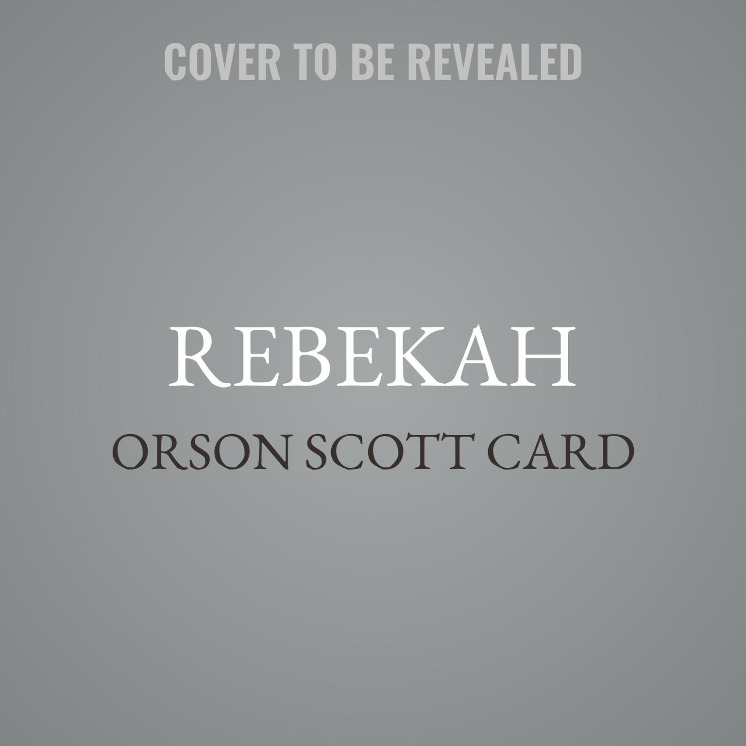 Printable Rebekah: Women of Genesis (A Novel) Audiobook Cover Art