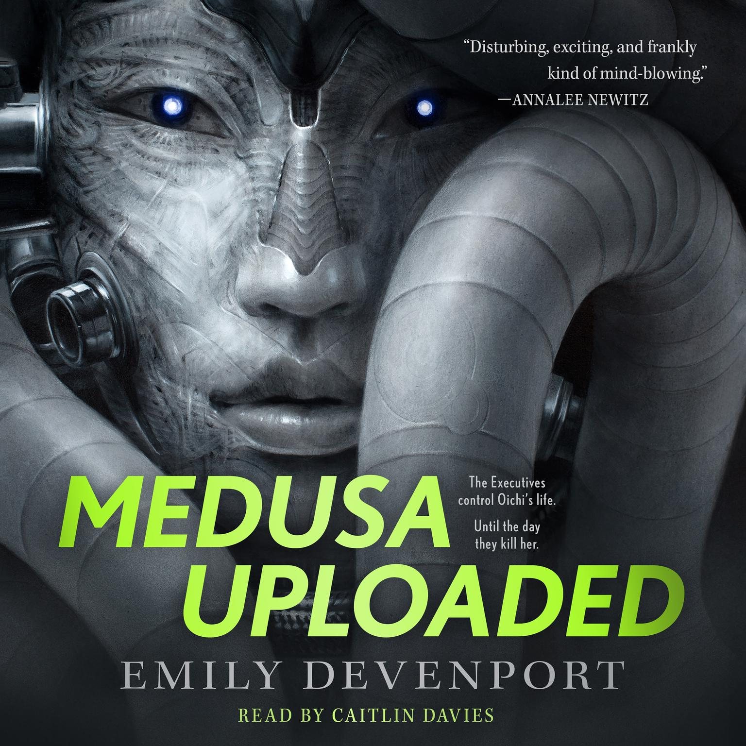 Medusa Uploaded: A Novel Audiobook, by Emily Devenport