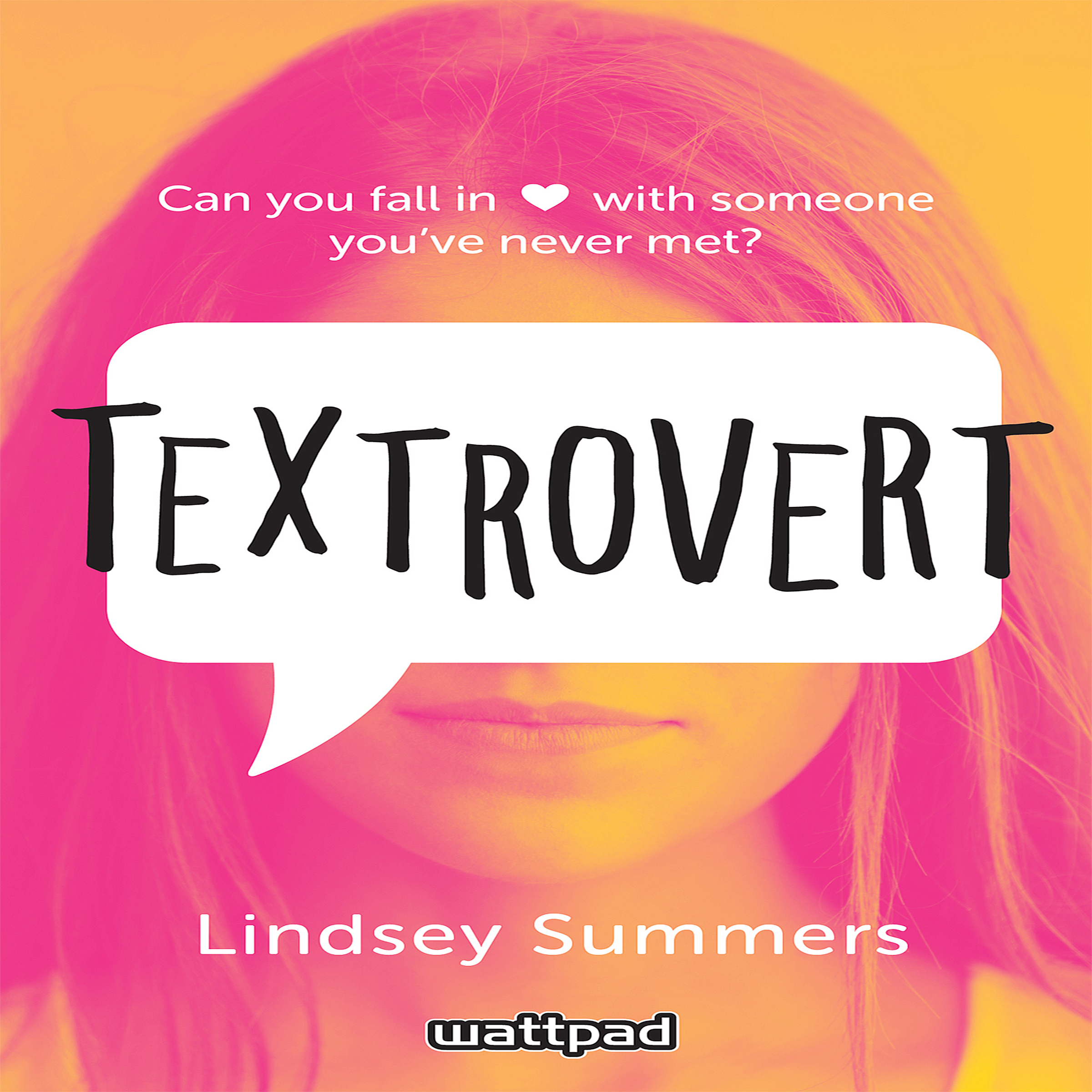 Printable Textrovert Audiobook Cover Art