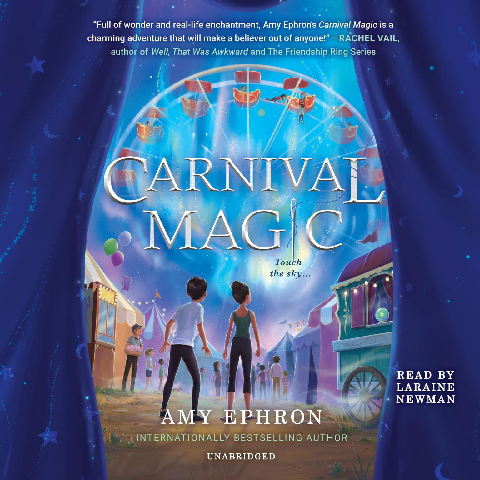 Printable Carnival Magic Audiobook Cover Art