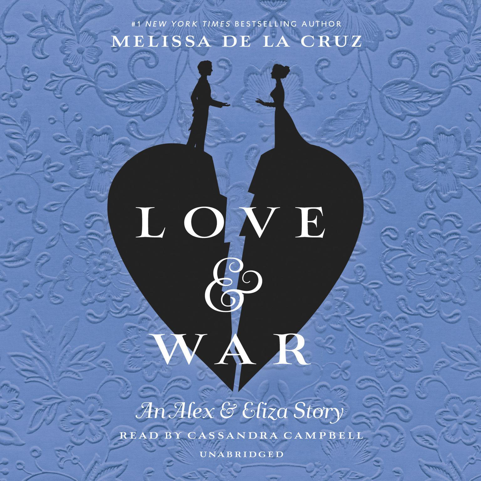 Printable Love & War: An Alex & Eliza Story Audiobook Cover Art
