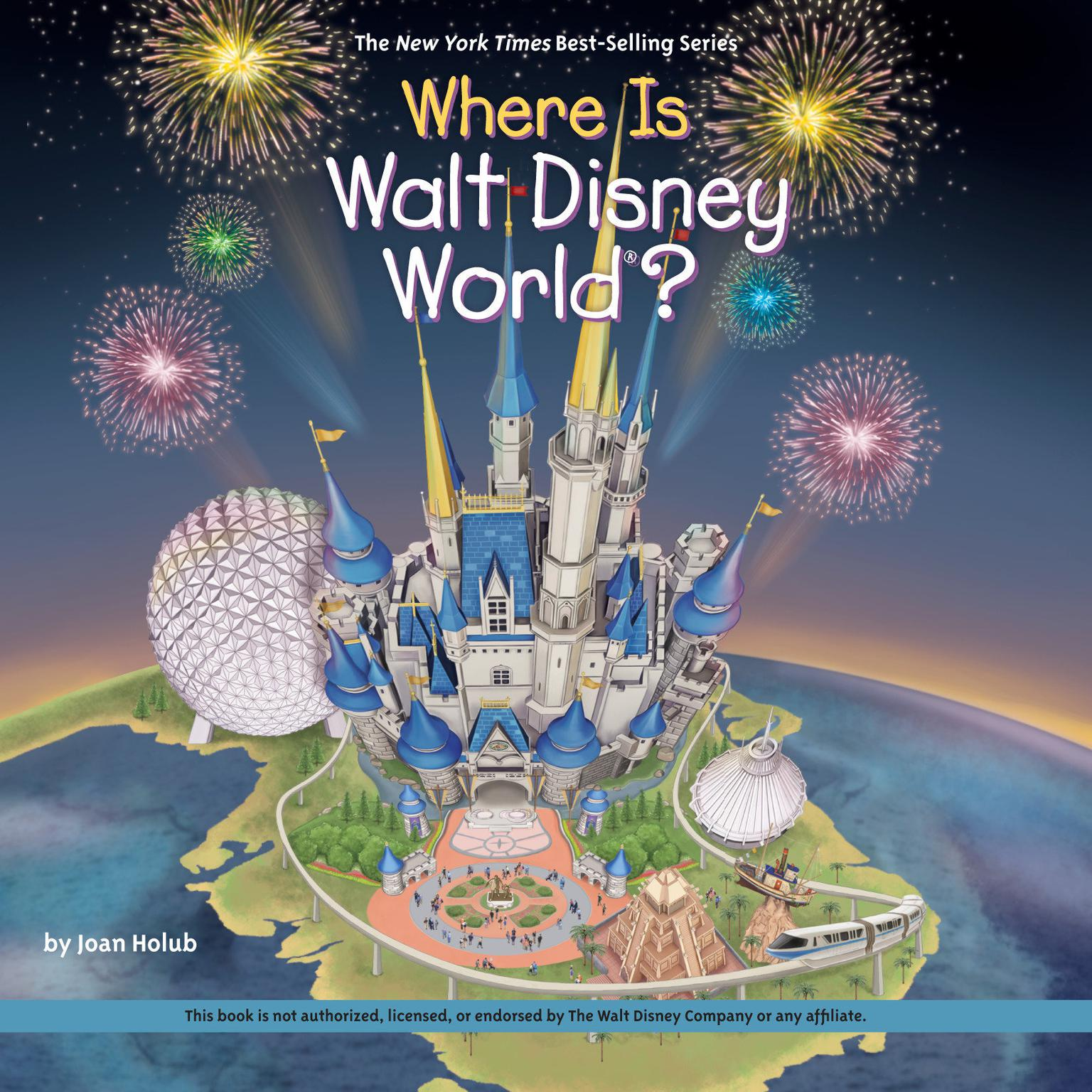 Printable Where is Walt Disney World? Audiobook Cover Art