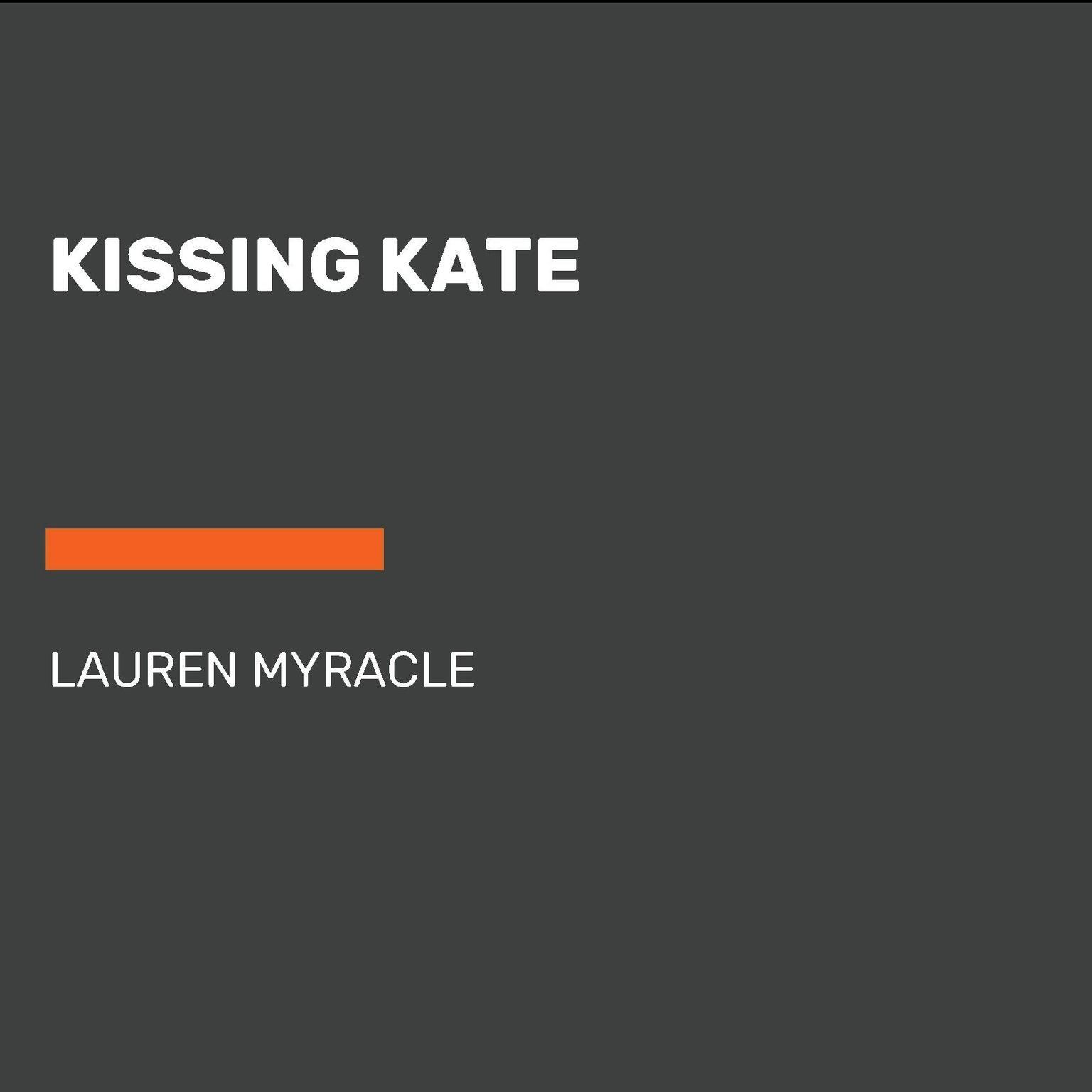 Printable Kissing Kate Audiobook Cover Art