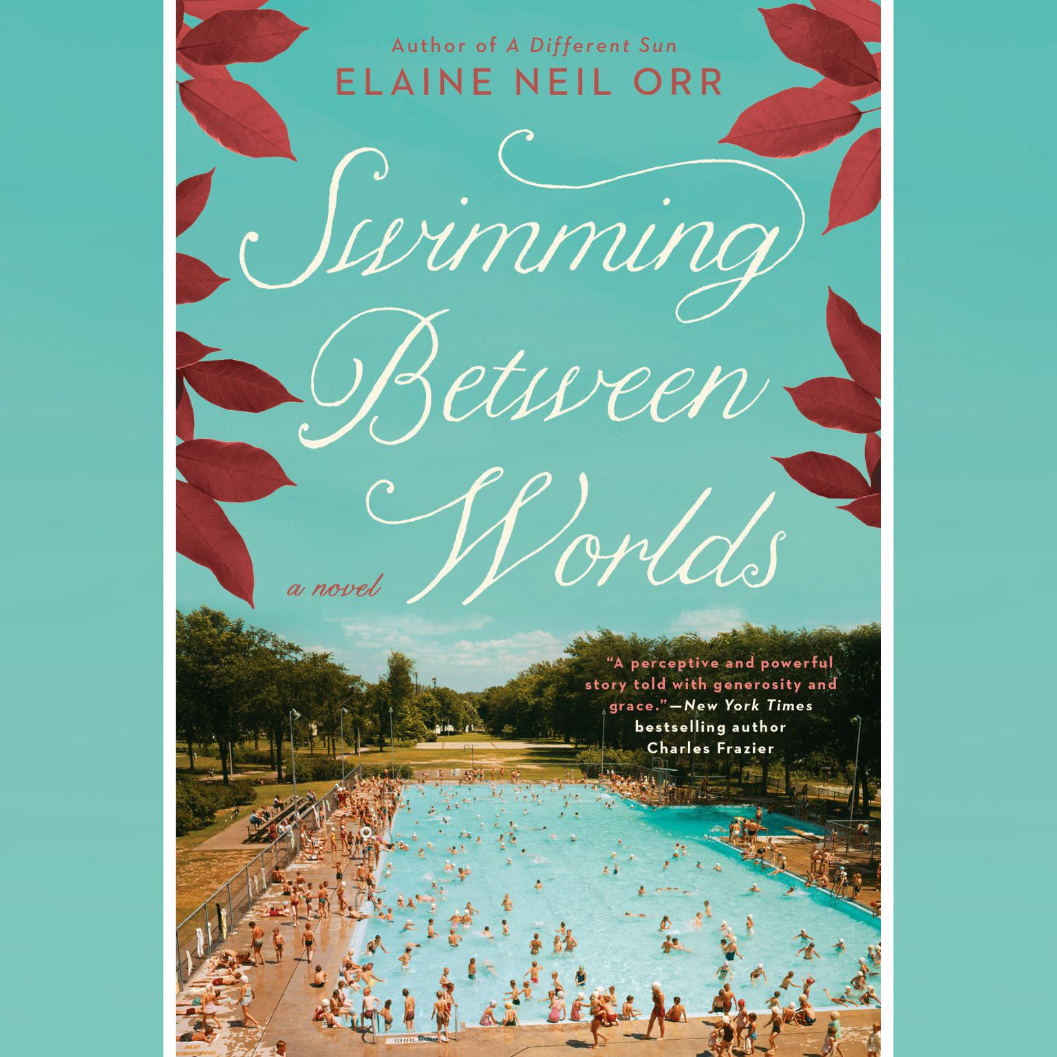 Printable Swimming Between Worlds Audiobook Cover Art