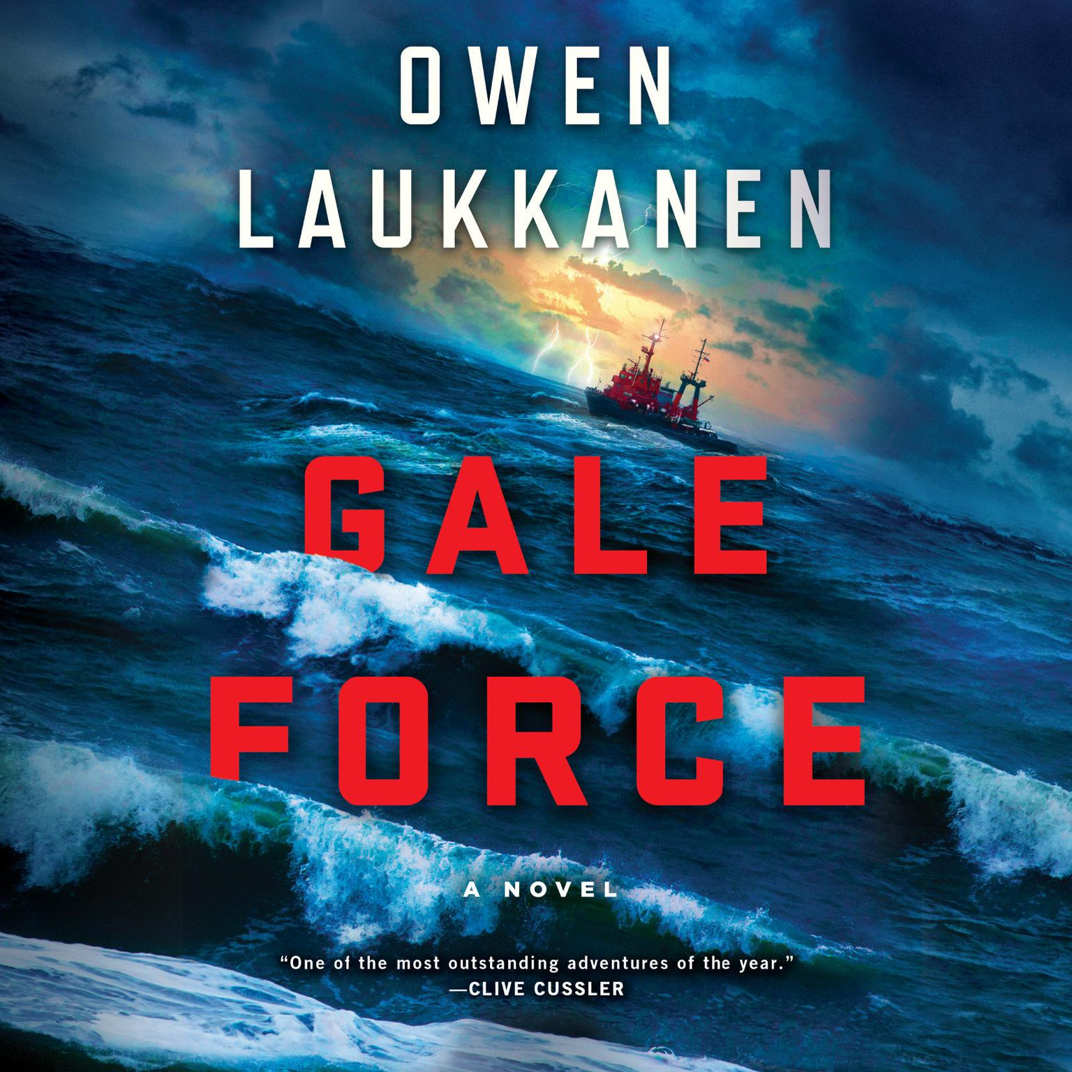 Printable Gale Force Audiobook Cover Art
