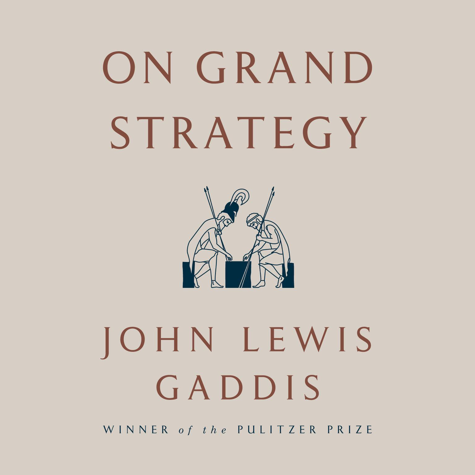 Printable On Grand Strategy Audiobook Cover Art