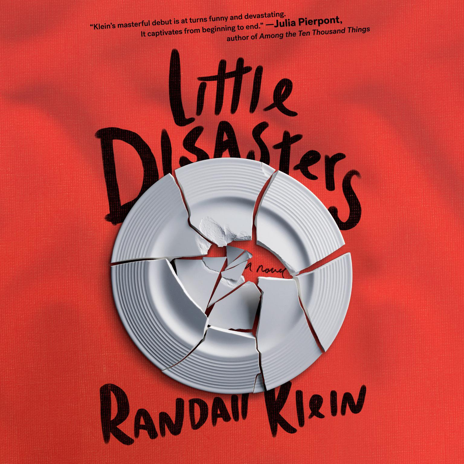 Printable Little Disasters Audiobook Cover Art