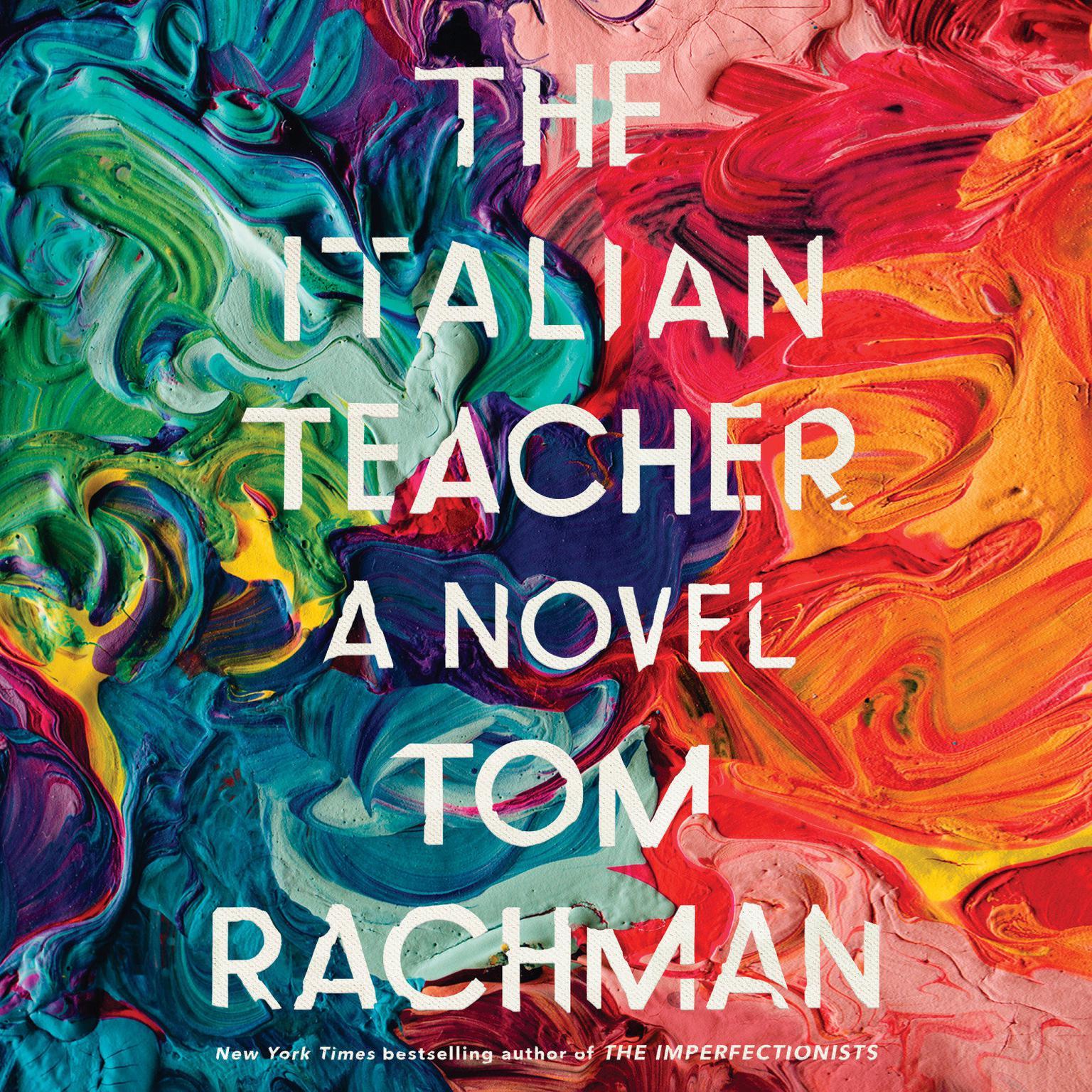 Printable The Italian Teacher Audiobook Cover Art