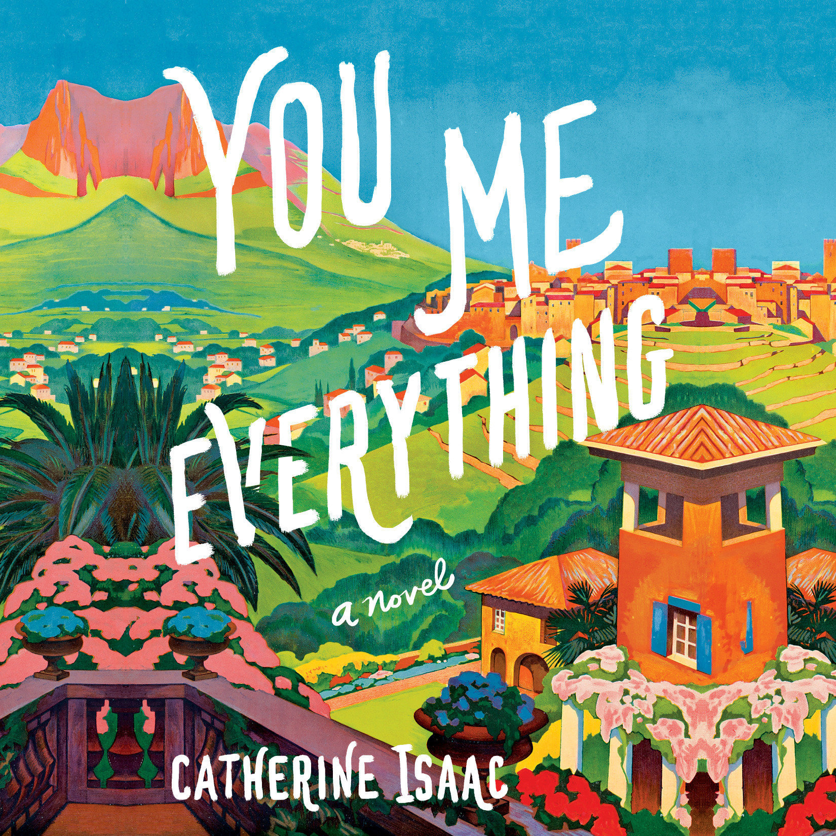Printable You Me Everything: A Novel Audiobook Cover Art