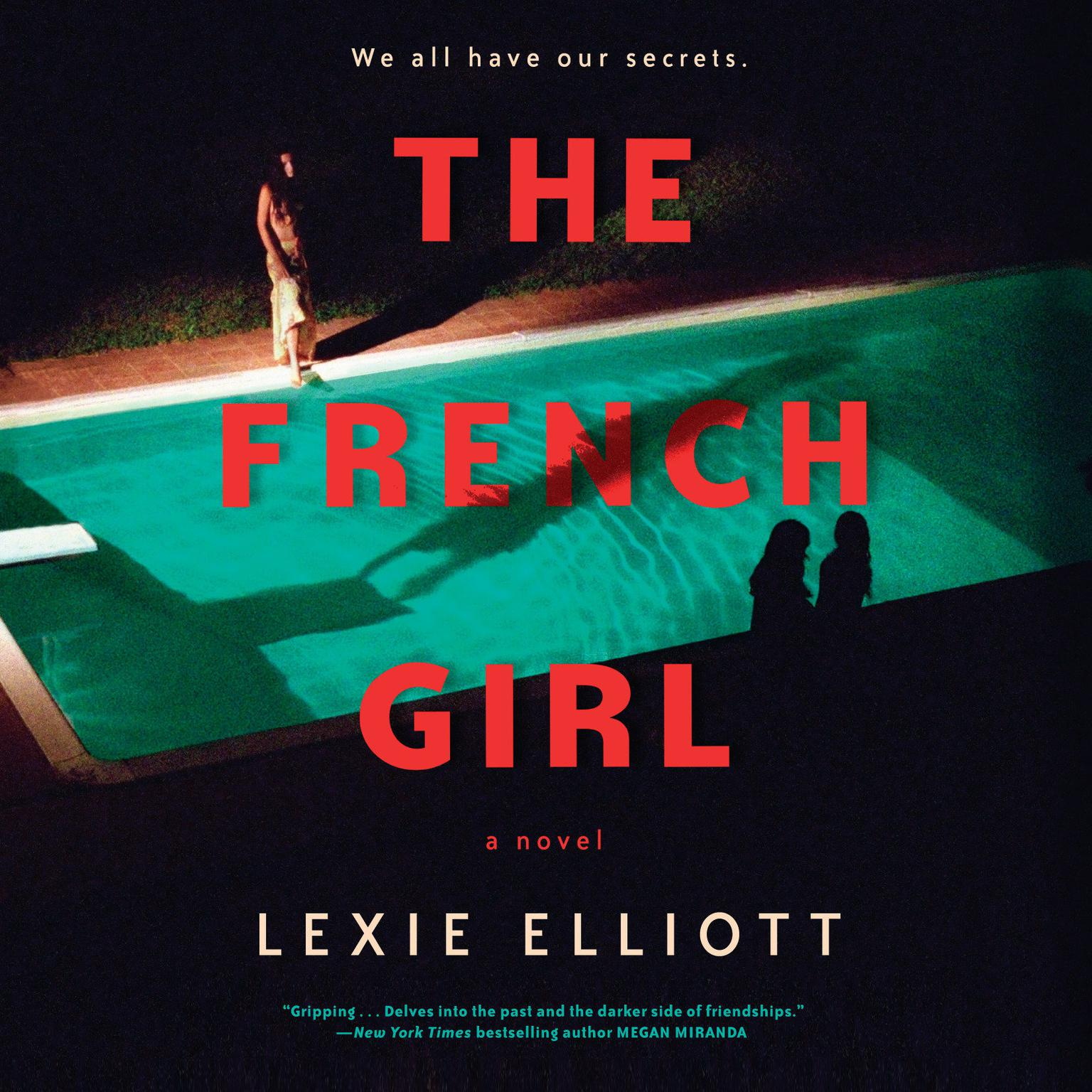 Printable The French Girl Audiobook Cover Art