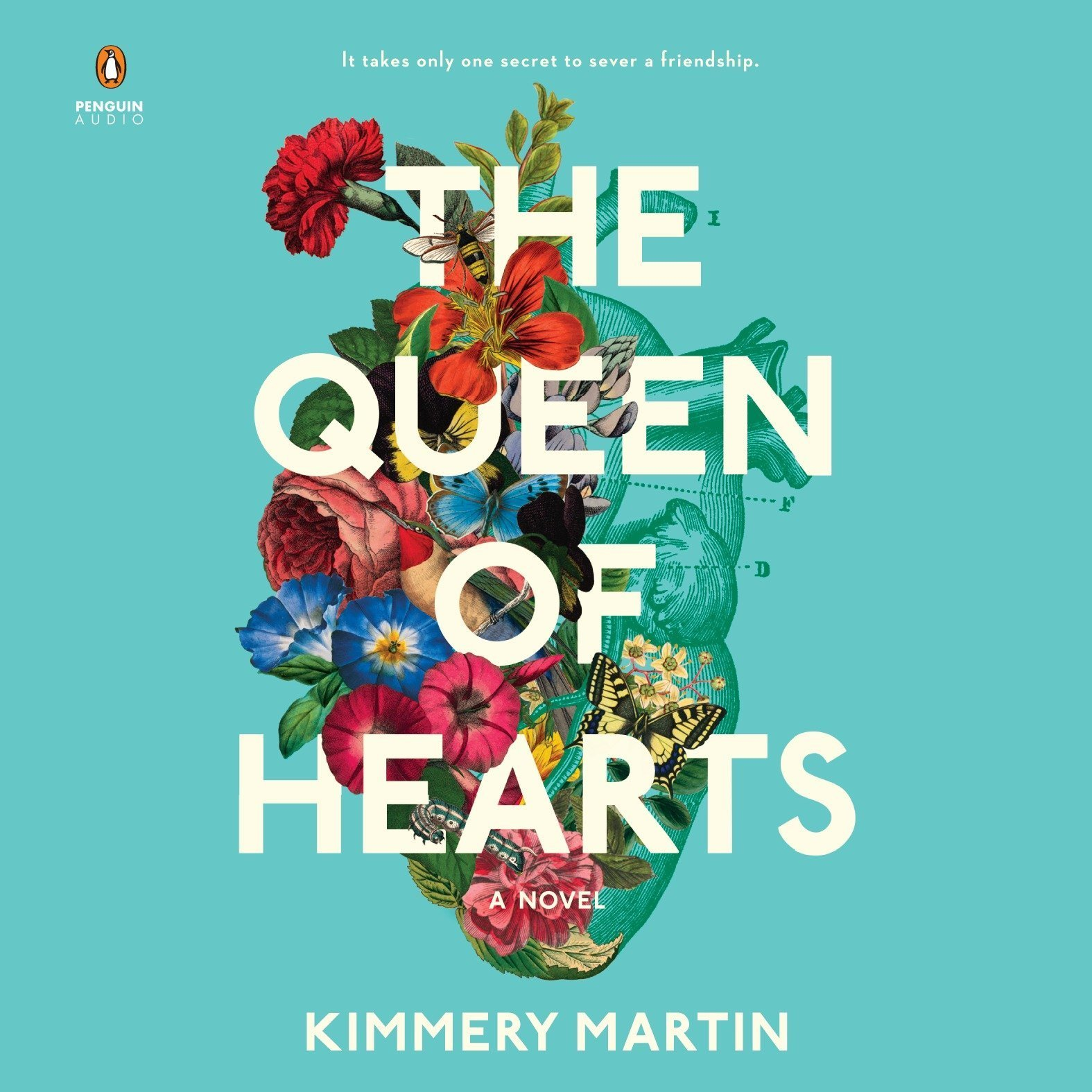 Printable The Queen of Hearts Audiobook Cover Art