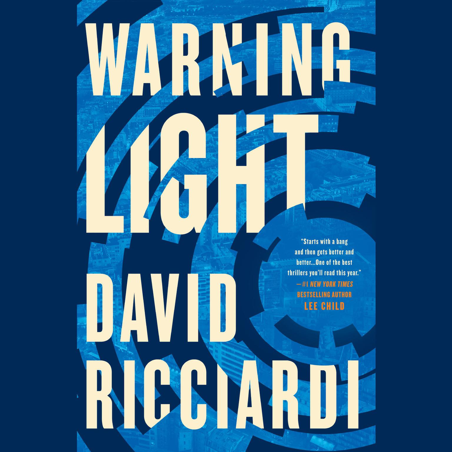 Printable Warning Light Audiobook Cover Art