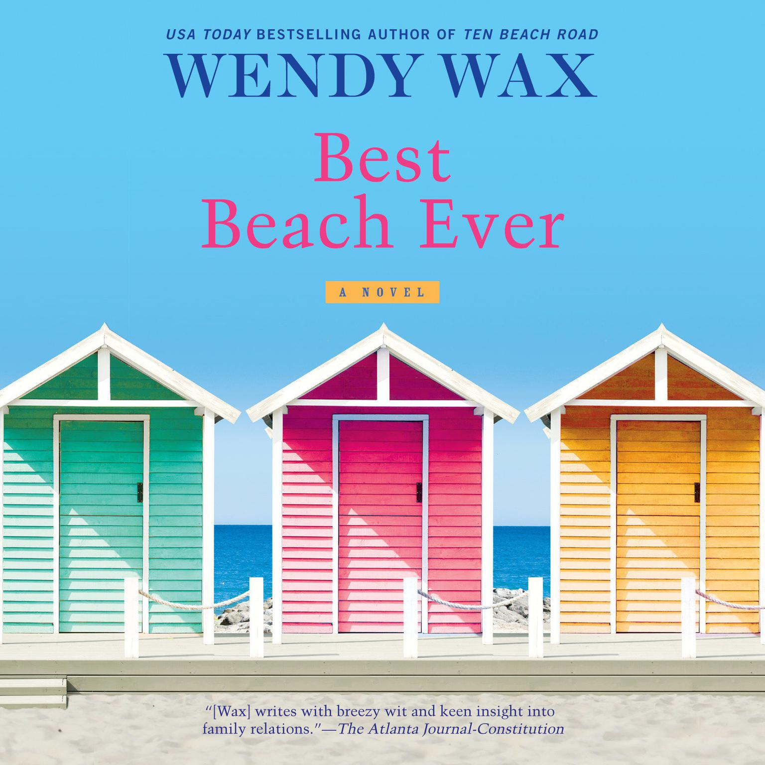 Printable Best Beach Ever Audiobook Cover Art