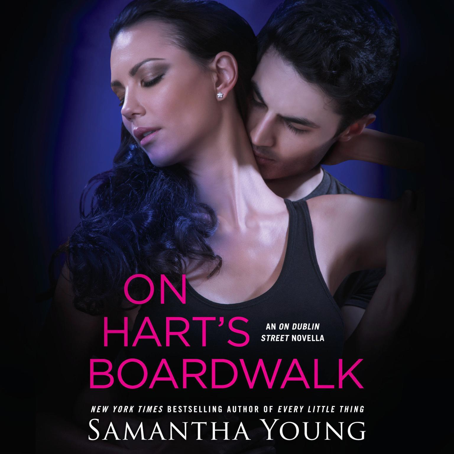 Printable On Hart's Boardwalk Audiobook Cover Art