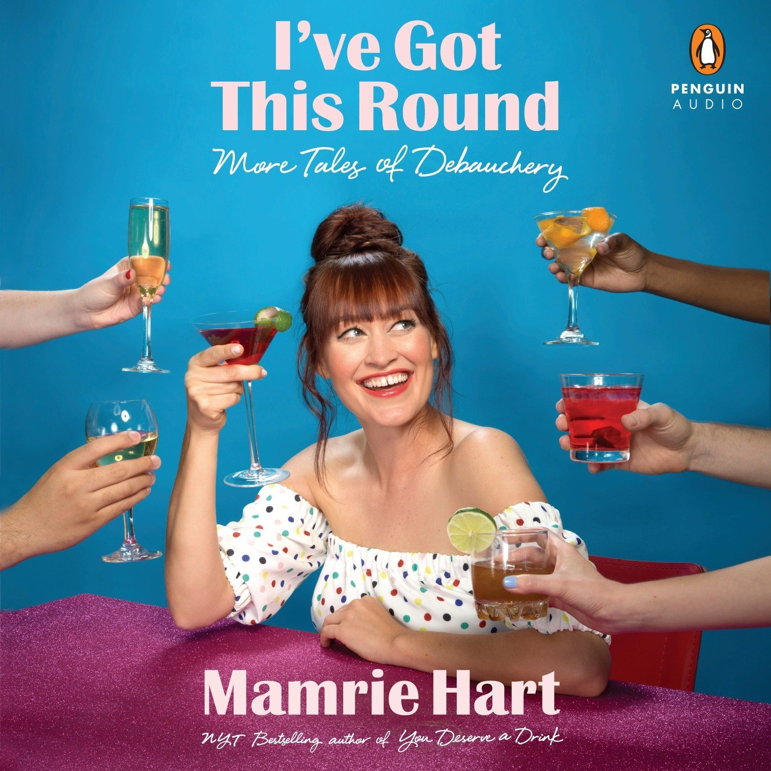 Printable I've Got This Round: More Tales of Debauchery Audiobook Cover Art