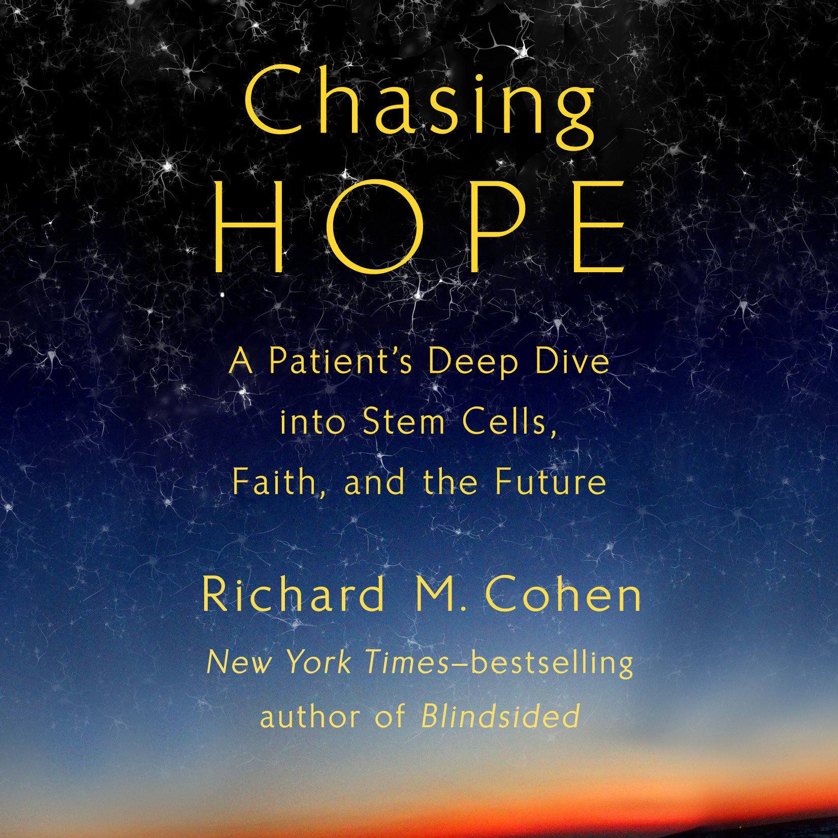 Printable Chasing Hope: A Patient's Deep Dive into Stem Cells, Faith, and the Future Audiobook Cover Art