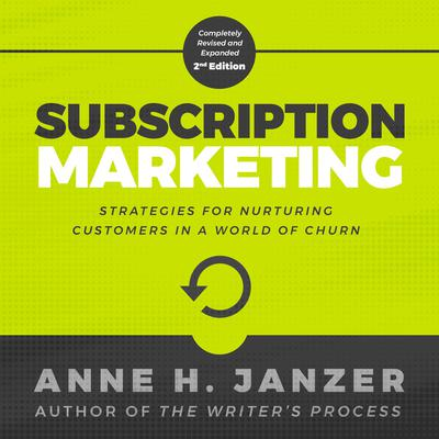 Subscription Marketing Audiobook, by Anne Janzer