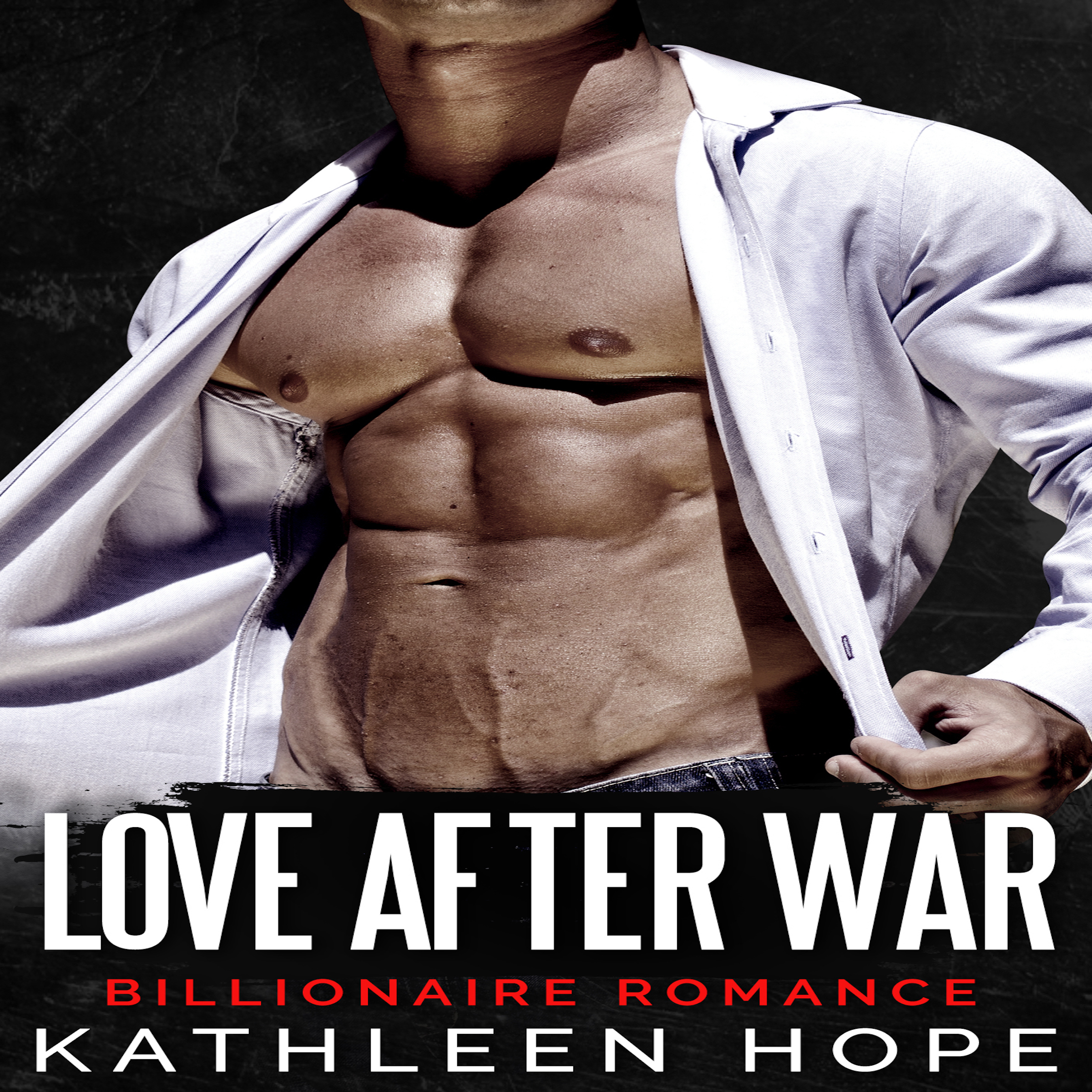 Printable Billionaire Romance: Love After War Audiobook Cover Art