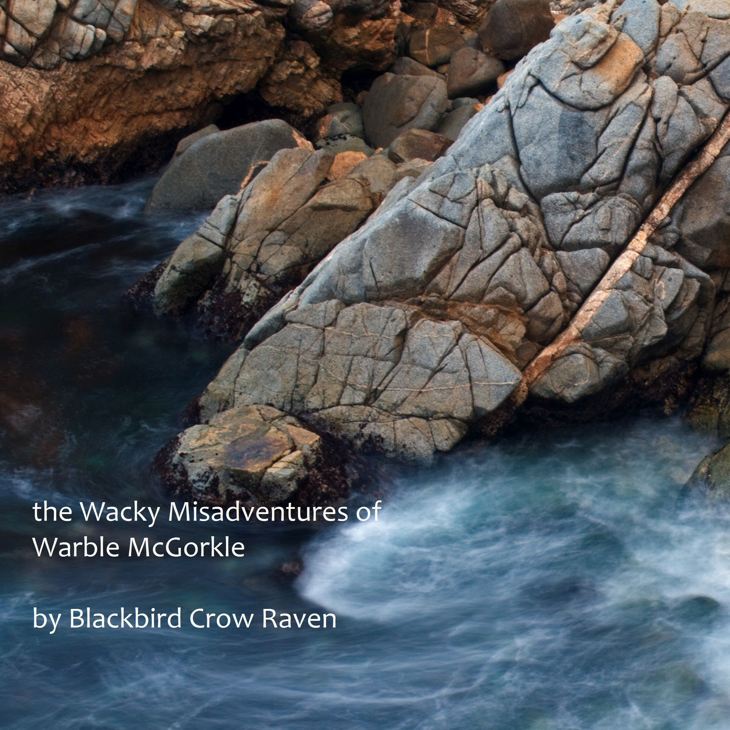 Printable the Wacky Misadventures of Warble McGorkle Audiobook Cover Art