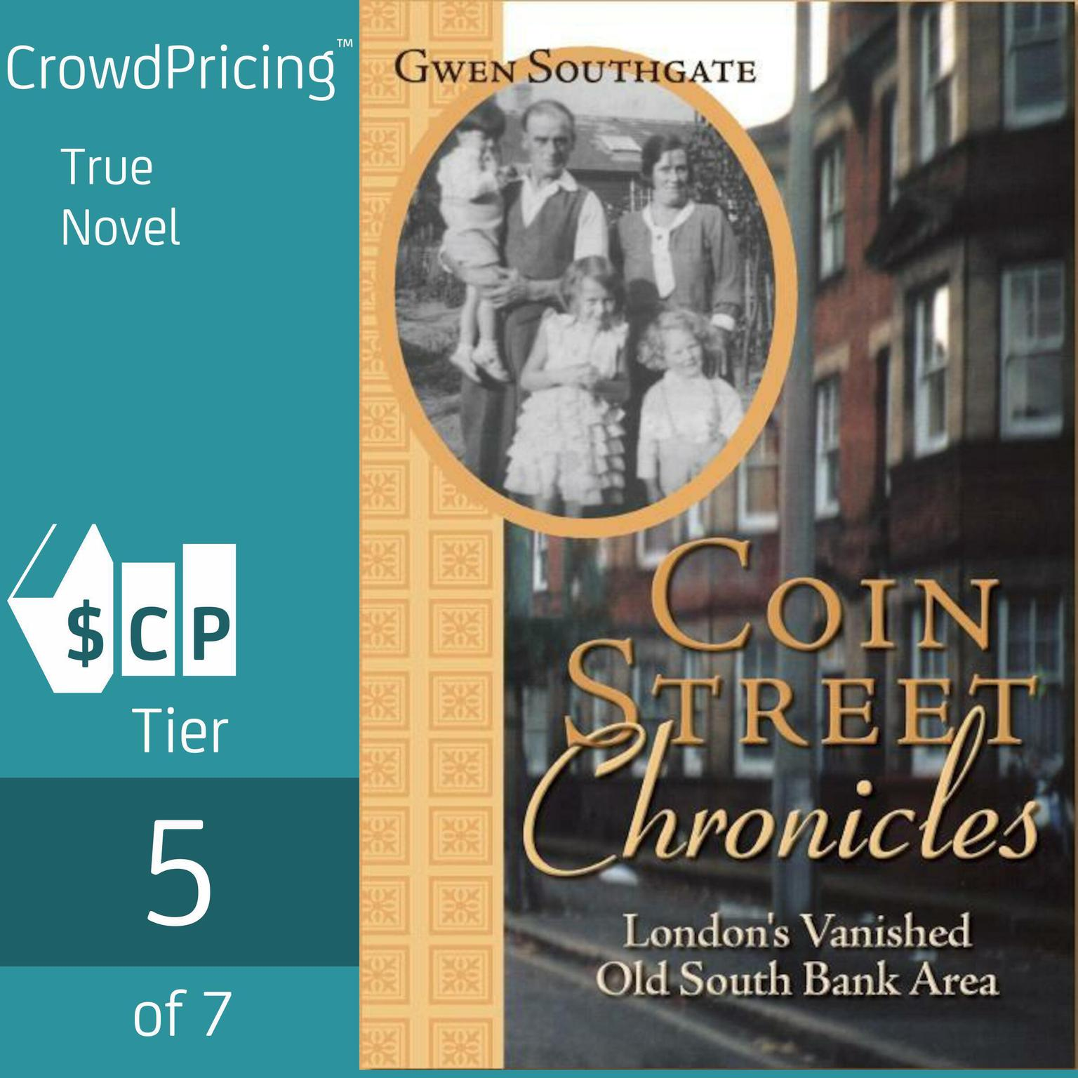 Printable Coin Street Chronicles: London's Vanished Old South Bank Area Audiobook Cover Art