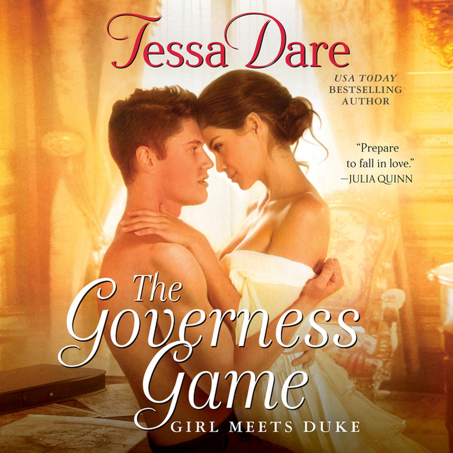 Printable The Governess Game: Girl Meets Duke Audiobook Cover Art
