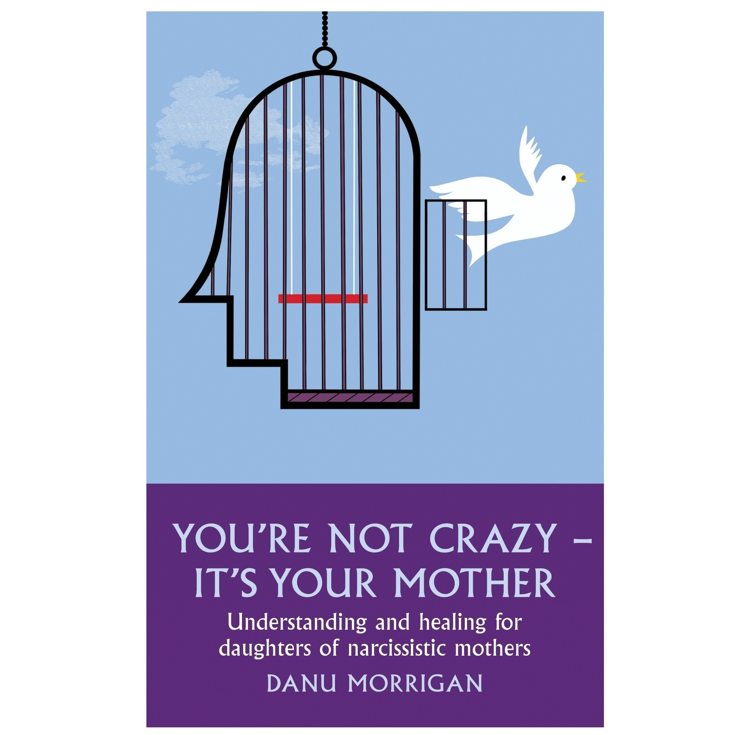 Printable You're Not Crazy—It's Your Mother: Understanding and Healing for Daughters of Narcissistic Mothers Audiobook Cover Art
