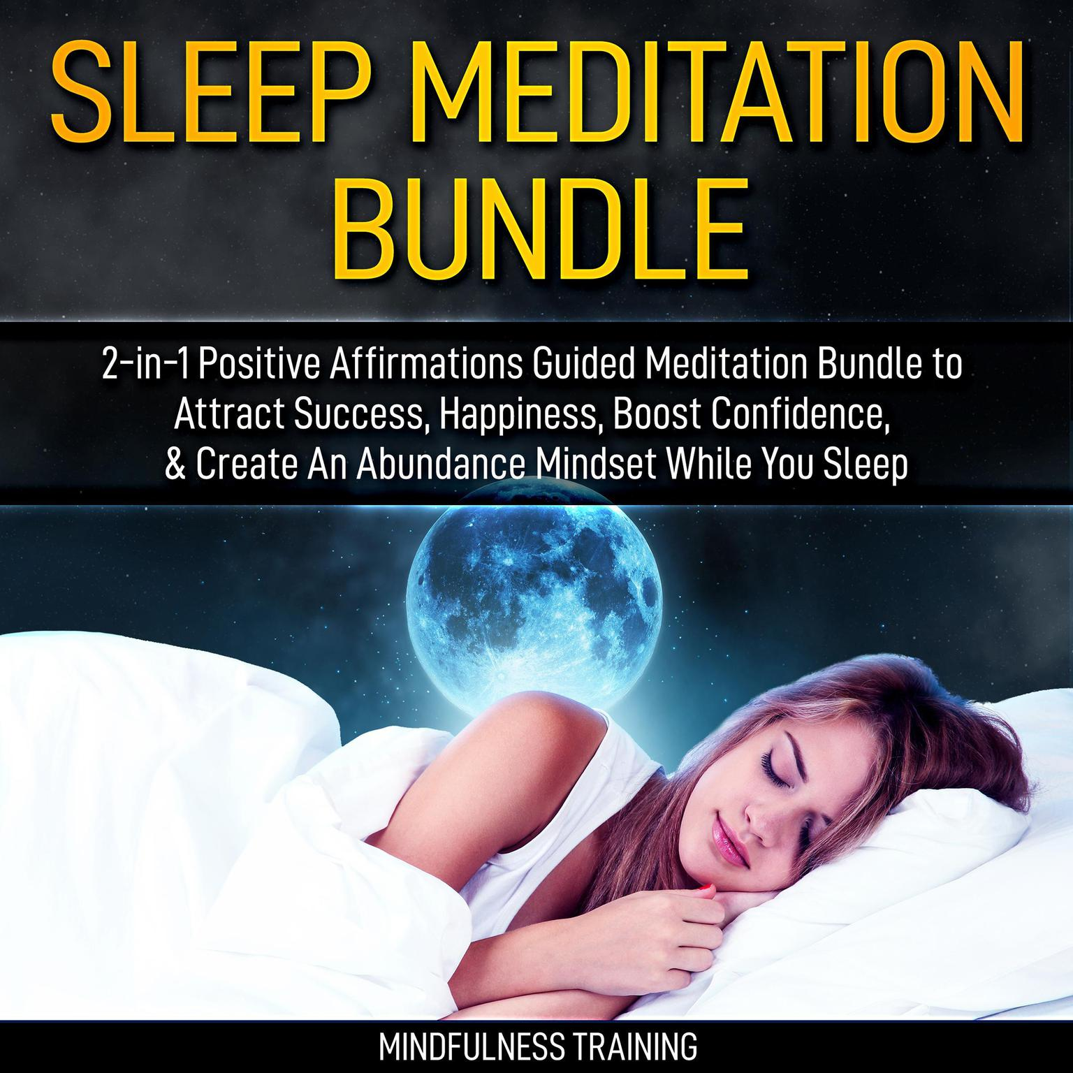 Printable Guided Meditation: 2-in-1 Hypnosis Bundle for Mindfulness, Focus & Relaxation: Self Hypnosis, Affirmations, Guided Imagery & Relaxation Techniques Audiobook Cover Art