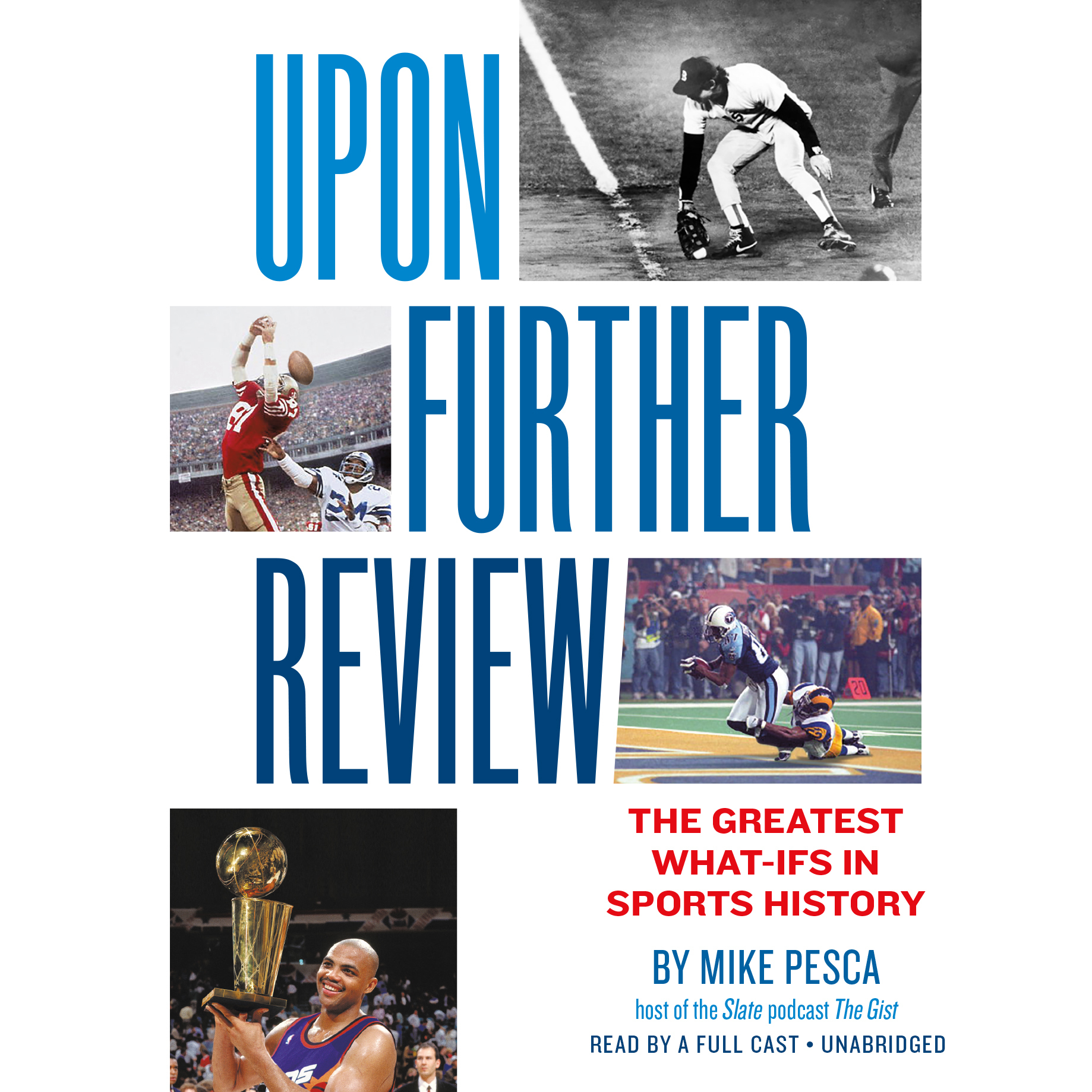 Printable Upon Further Review: The Greatest What-Ifs in Sports History Audiobook Cover Art