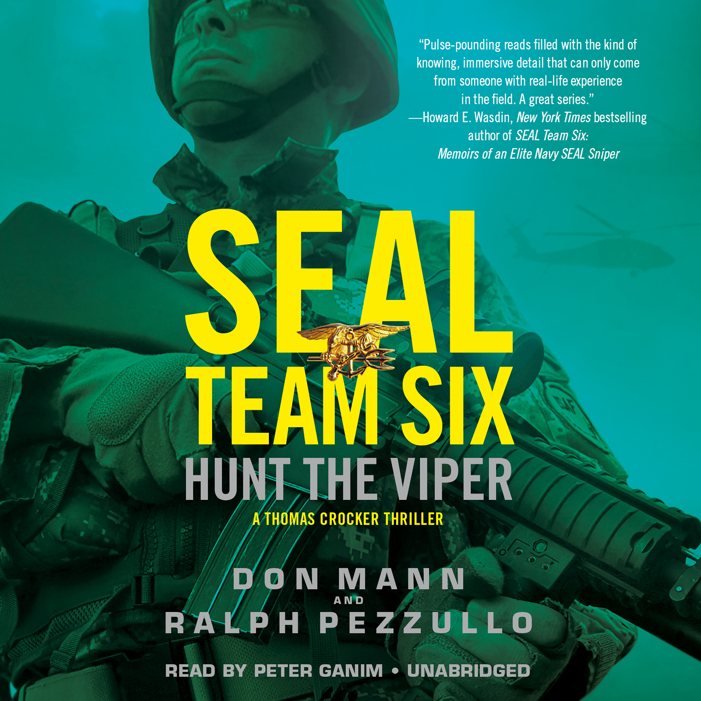 Printable SEAL Team Six: Hunt the Viper Audiobook Cover Art