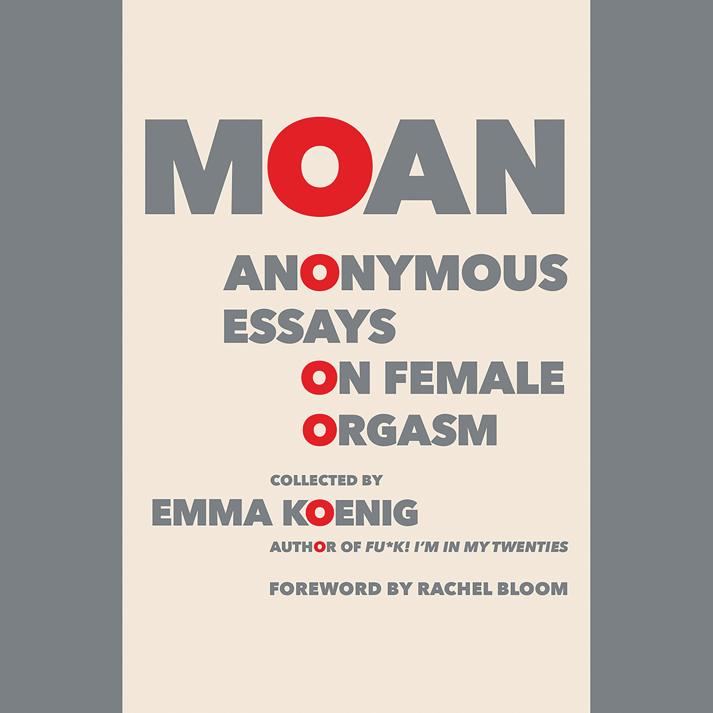 Printable Moan: Anonymous Essays on Female Orgasm Audiobook Cover Art