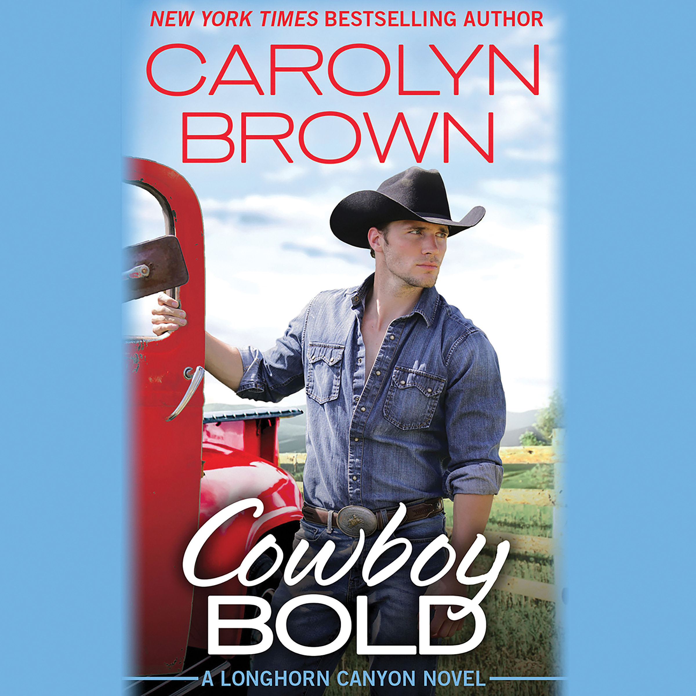 Printable Cowboy Bold Audiobook Cover Art
