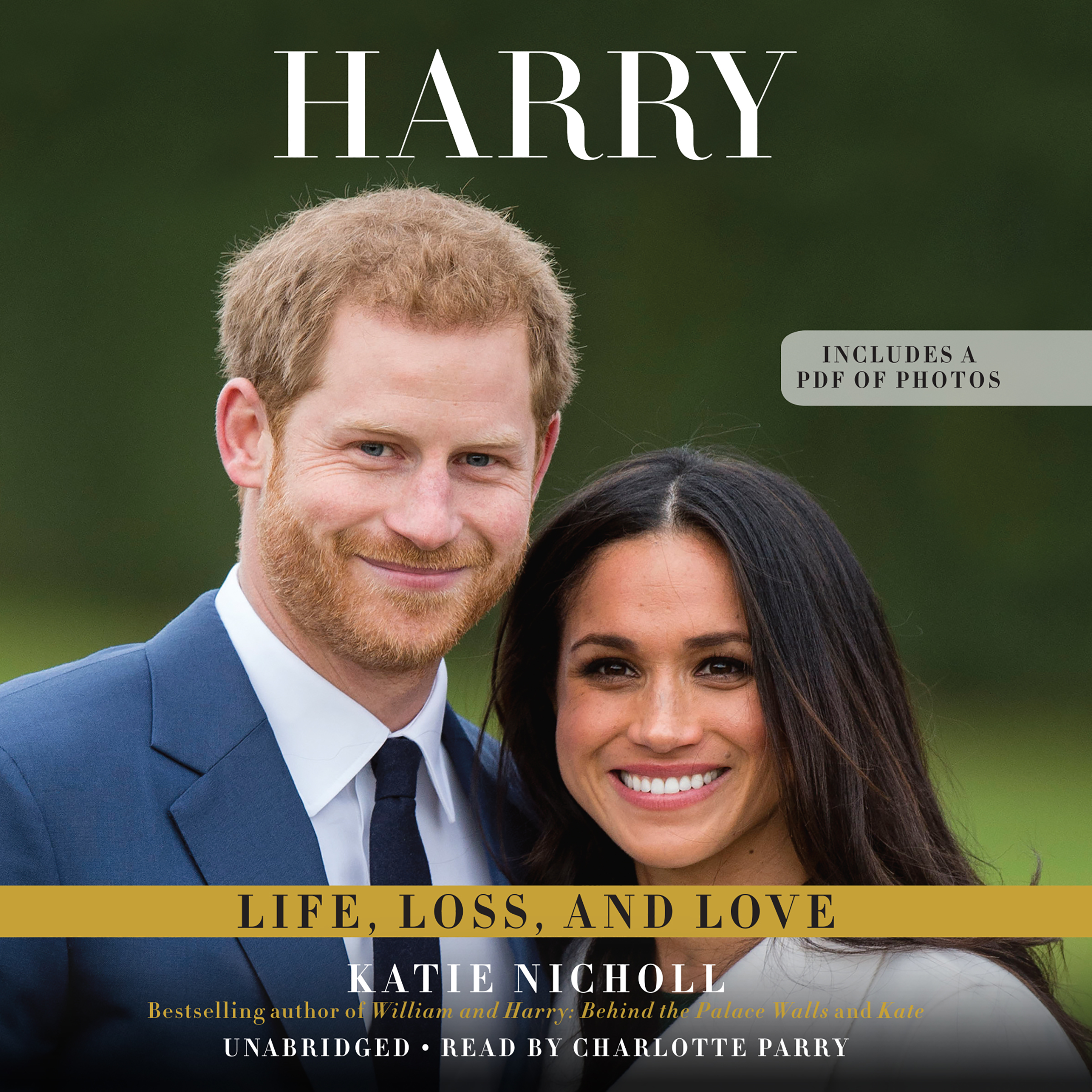 Printable Harry: Life, Loss, and Love Audiobook Cover Art