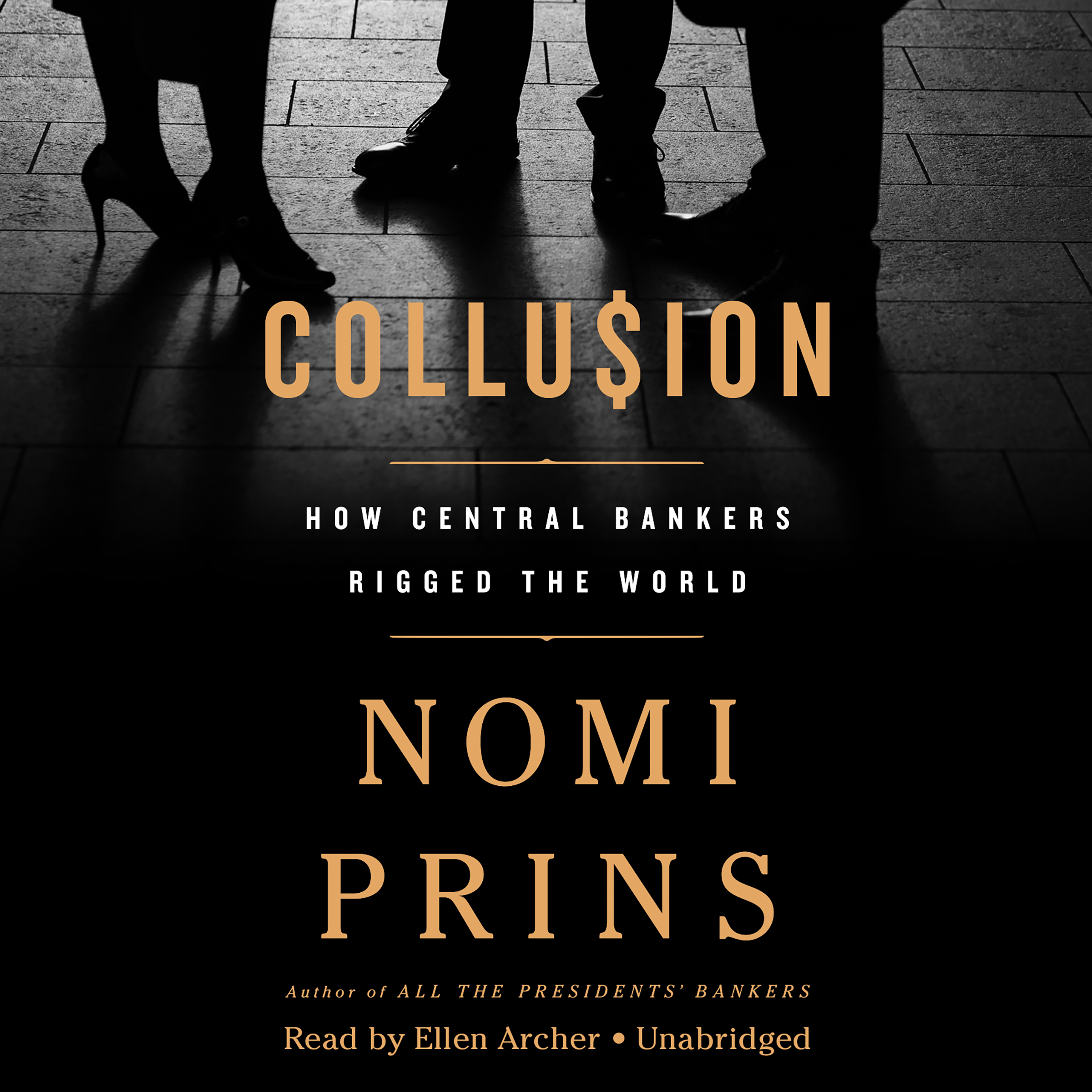 Printable Collusion: How Central Bankers Rigged the World Audiobook Cover Art