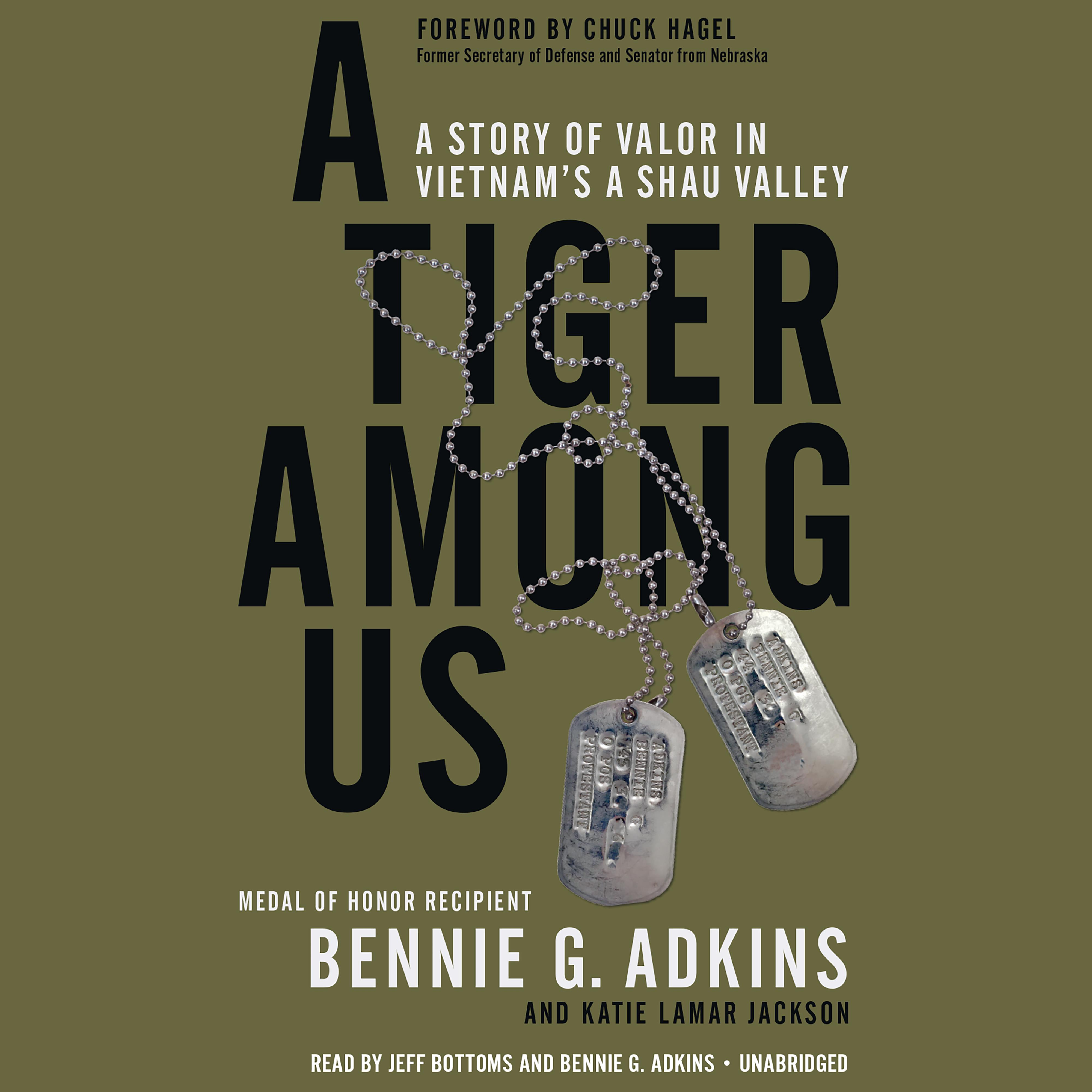 Printable A Tiger among Us: A Story of Valor in Vietnam's A Shau Valley Audiobook Cover Art