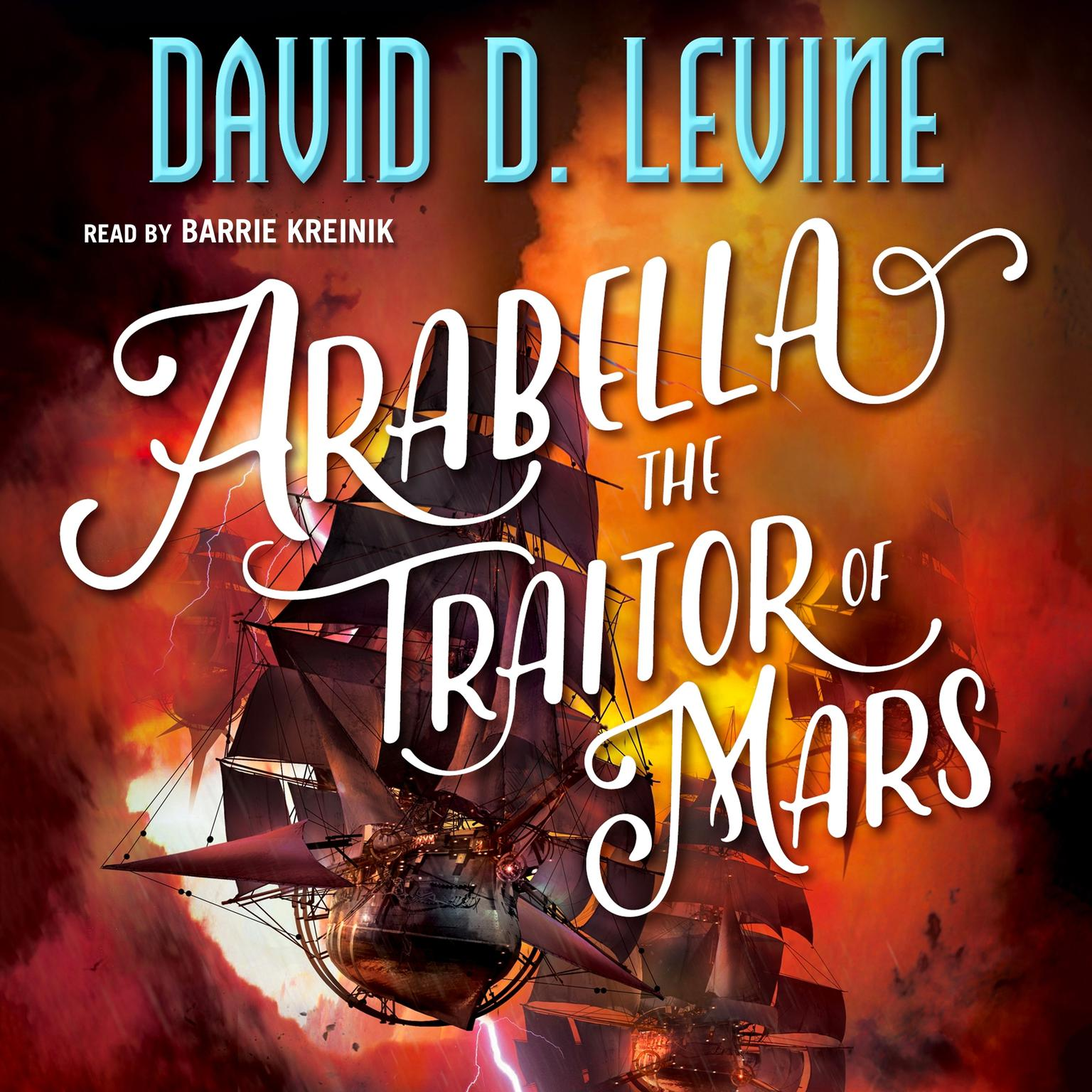 Printable Arabella The Traitor of Mars Audiobook Cover Art