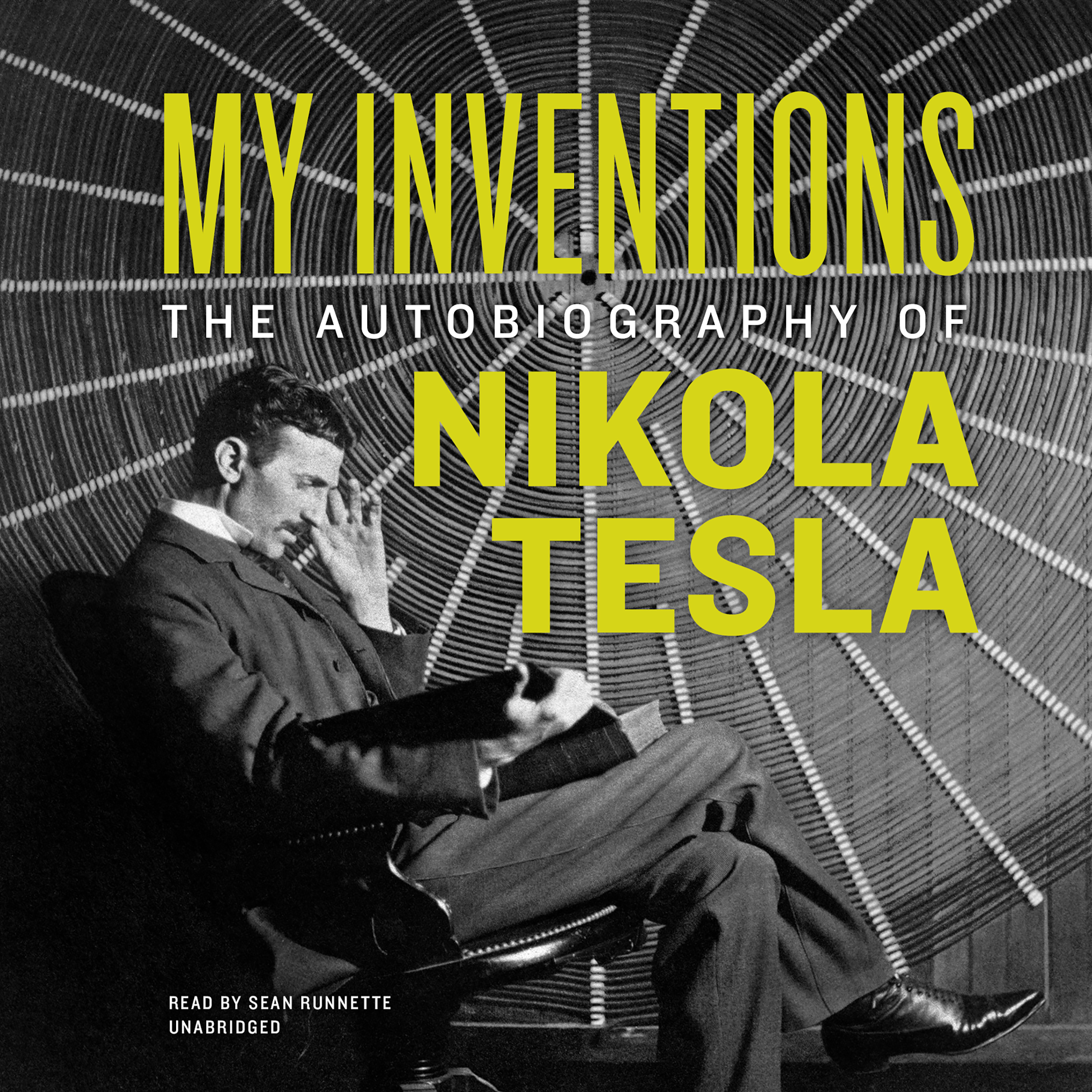 Printable My Inventions: The Autobiography of Nikola Tesla Audiobook Cover Art