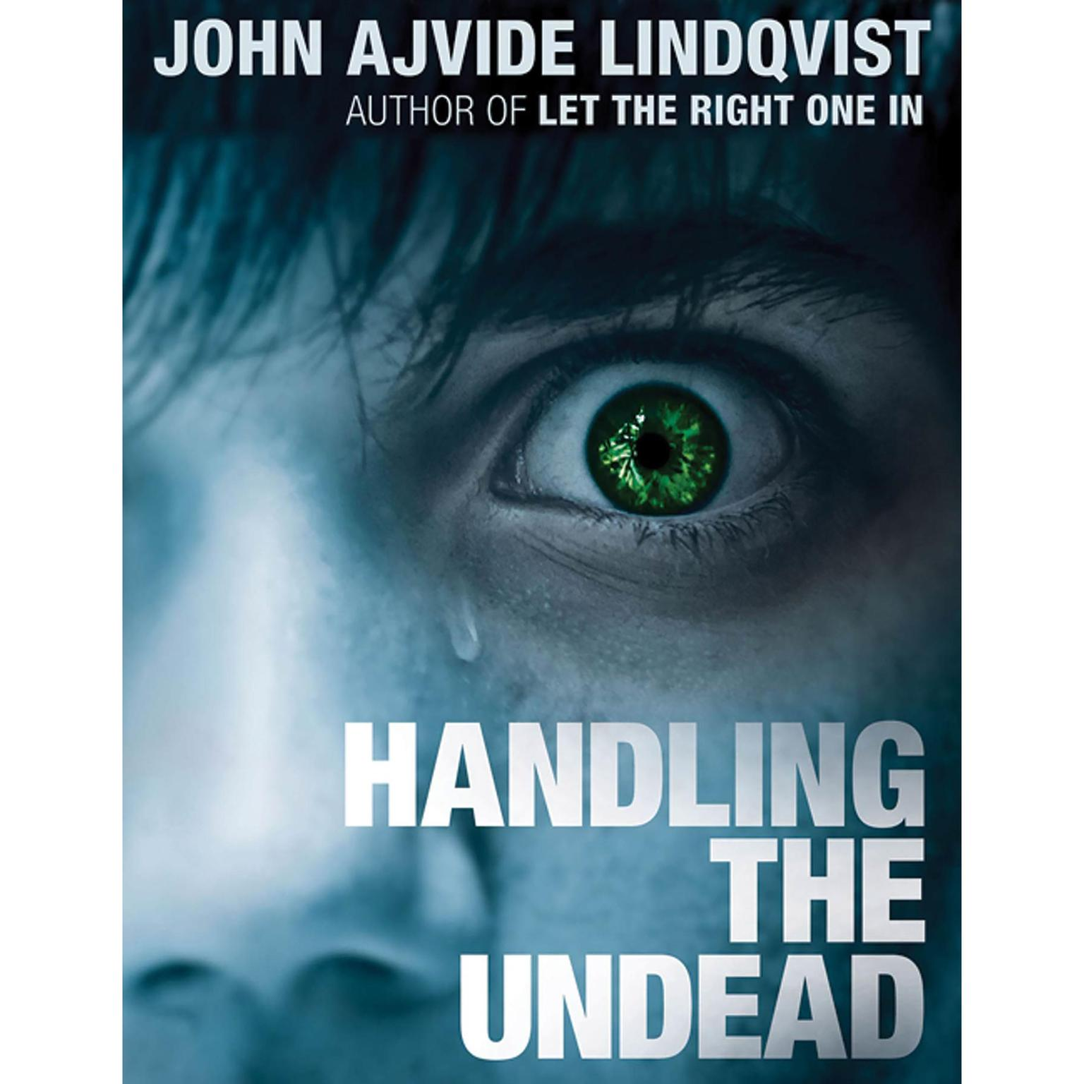 Printable Handling the Undead Audiobook Cover Art